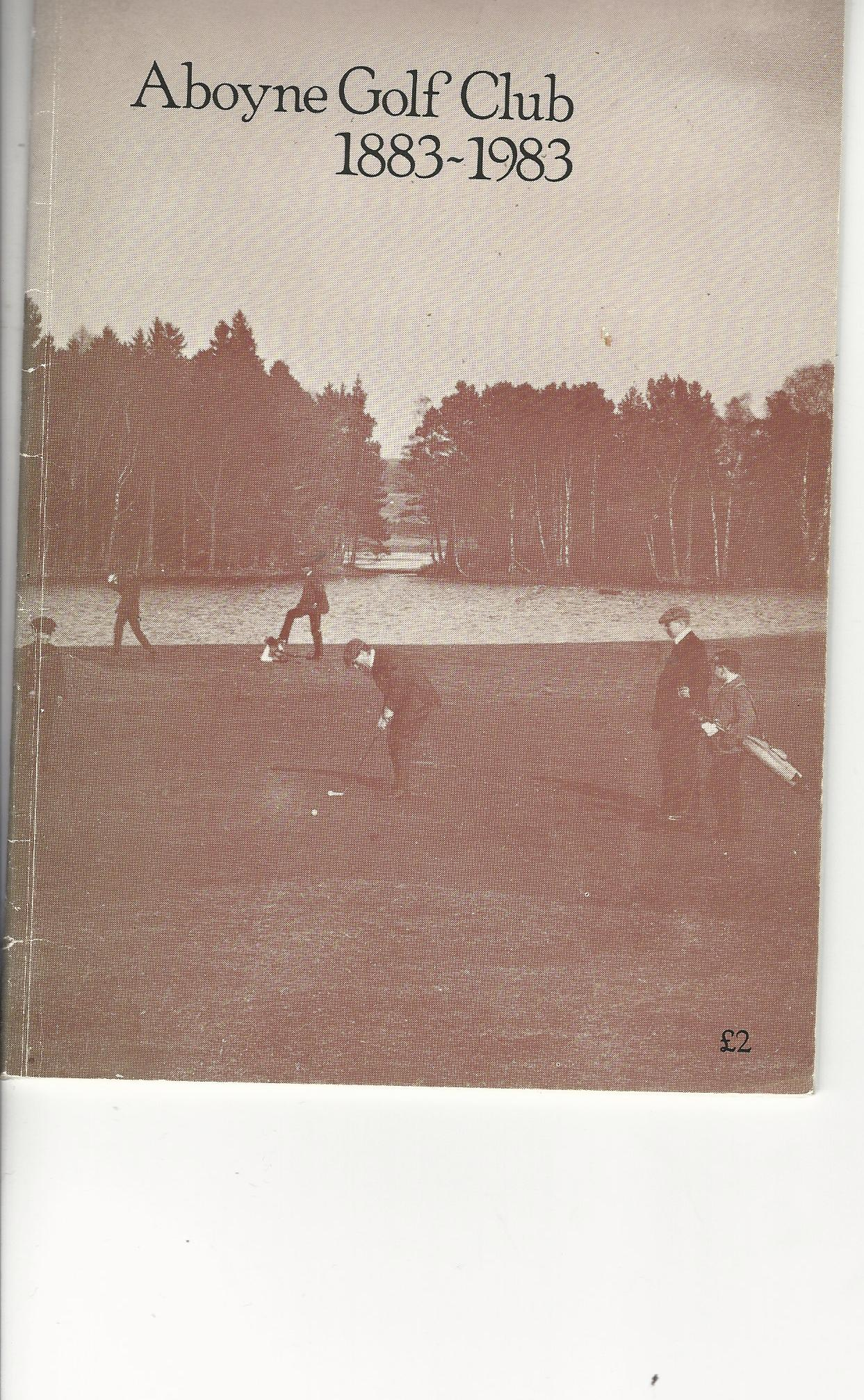 Image for Aboyne Golf Club 1883 - 1983.