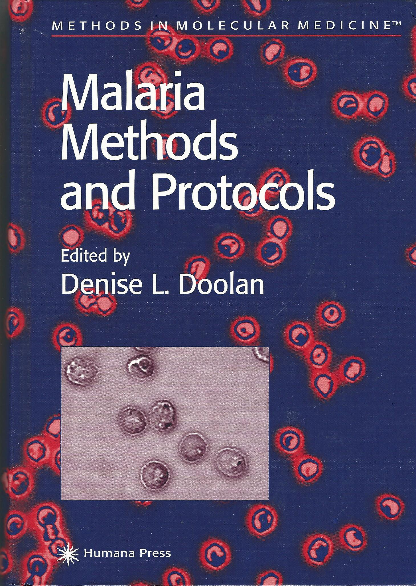Image for Malaria Methods and Protocols (Methods in Molecular Medicine)