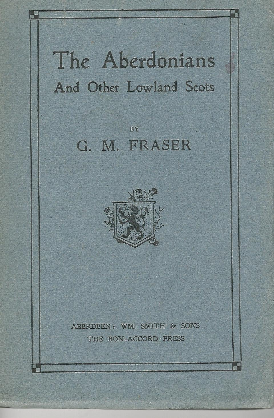 Image for The Aberdonians and other Lowland Scots.