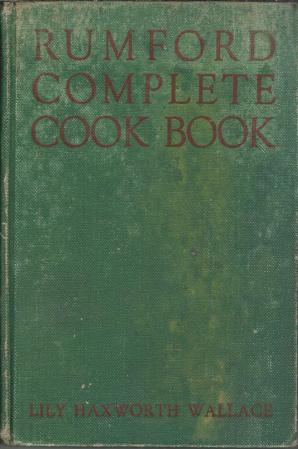 Image for Rumford Complete Cook Book.