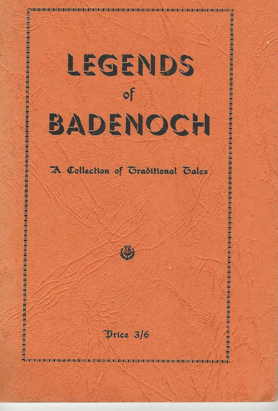 Image for Legends of Badenoch: A Collection of Traditional Tales.