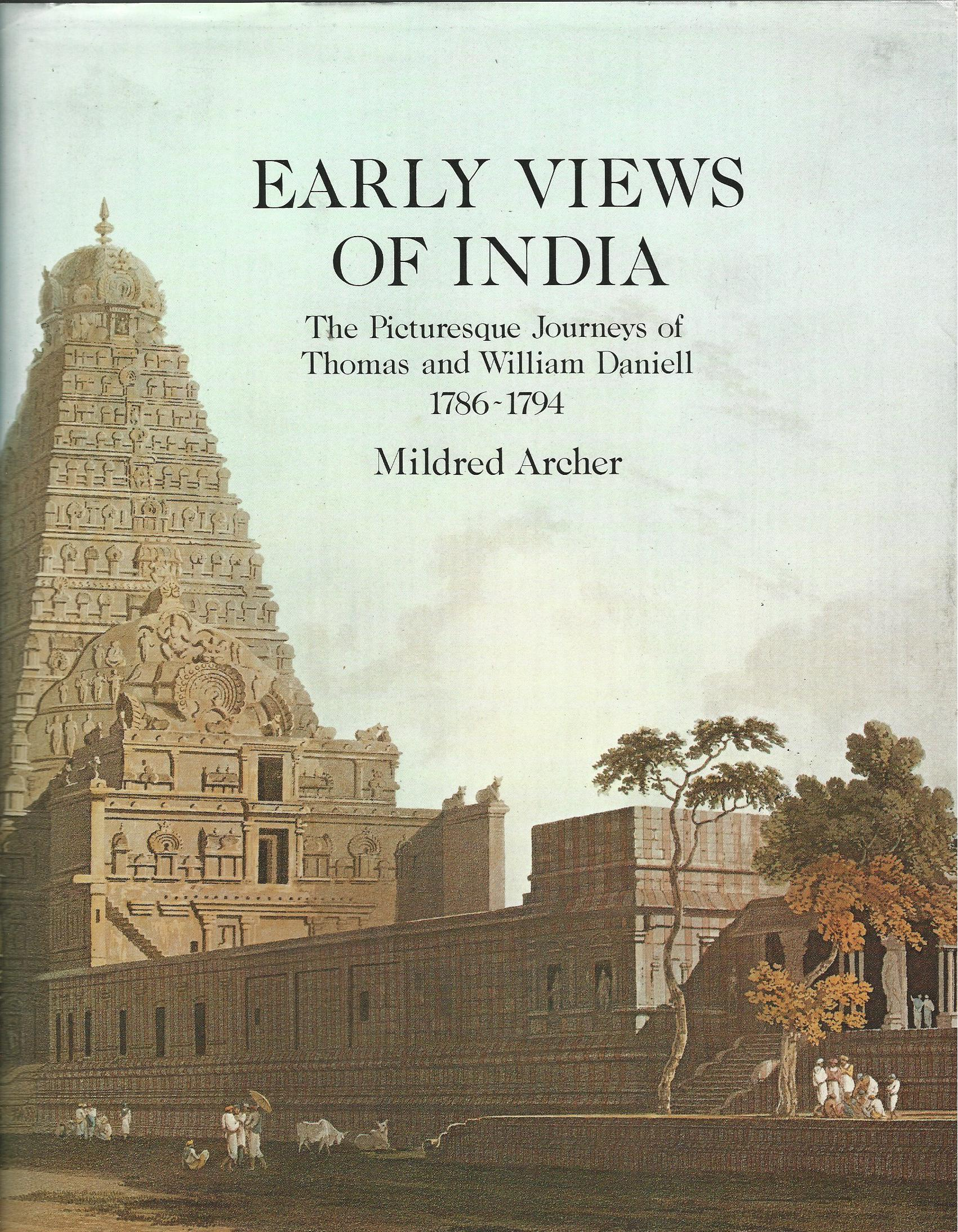 Image for Early Views of India: Picturesque Journeys of Thomas and William Daniell, 1786-94