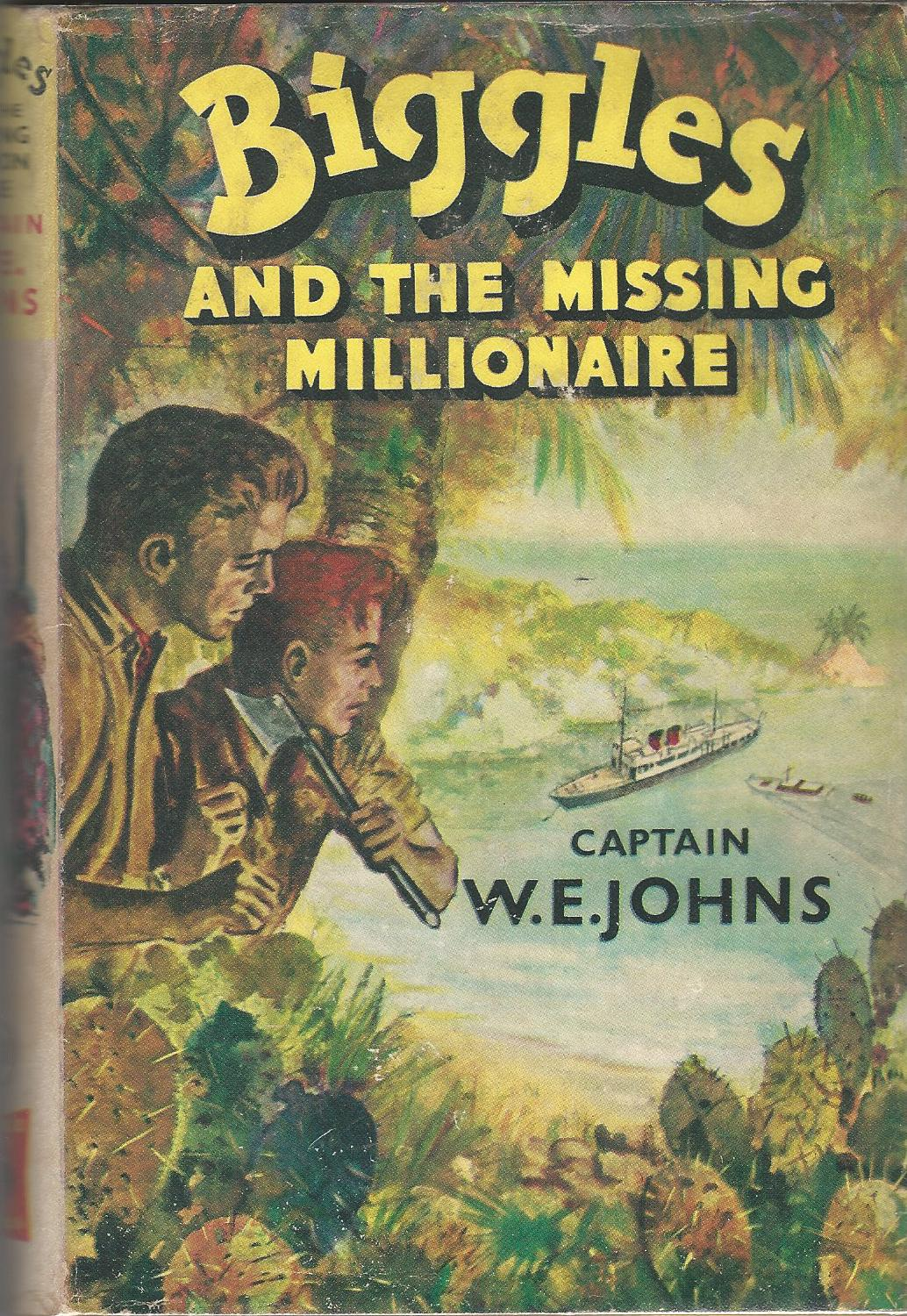 Image for Biggles and the Missing Millionaire
