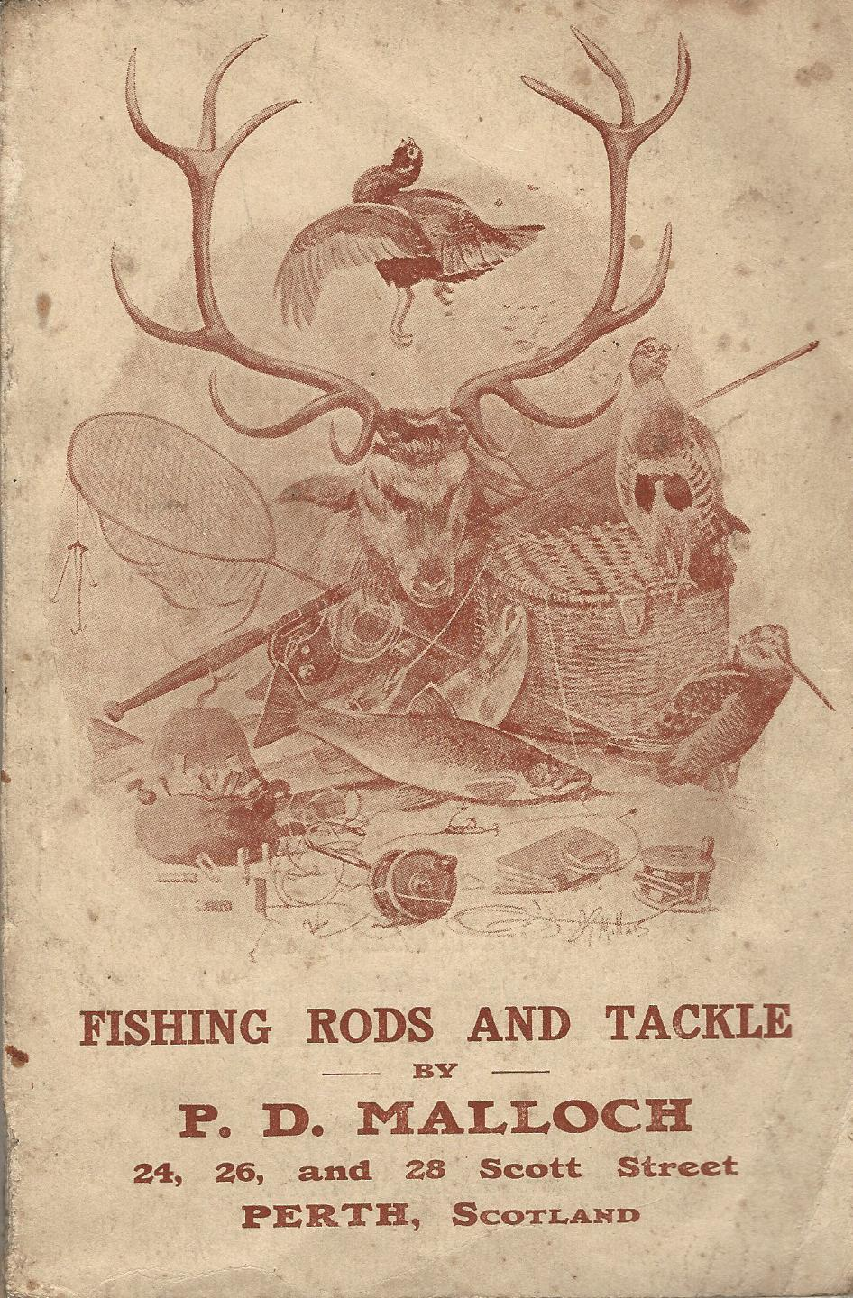 Image for Fishing Rods and Tackle by P.D. Malloch