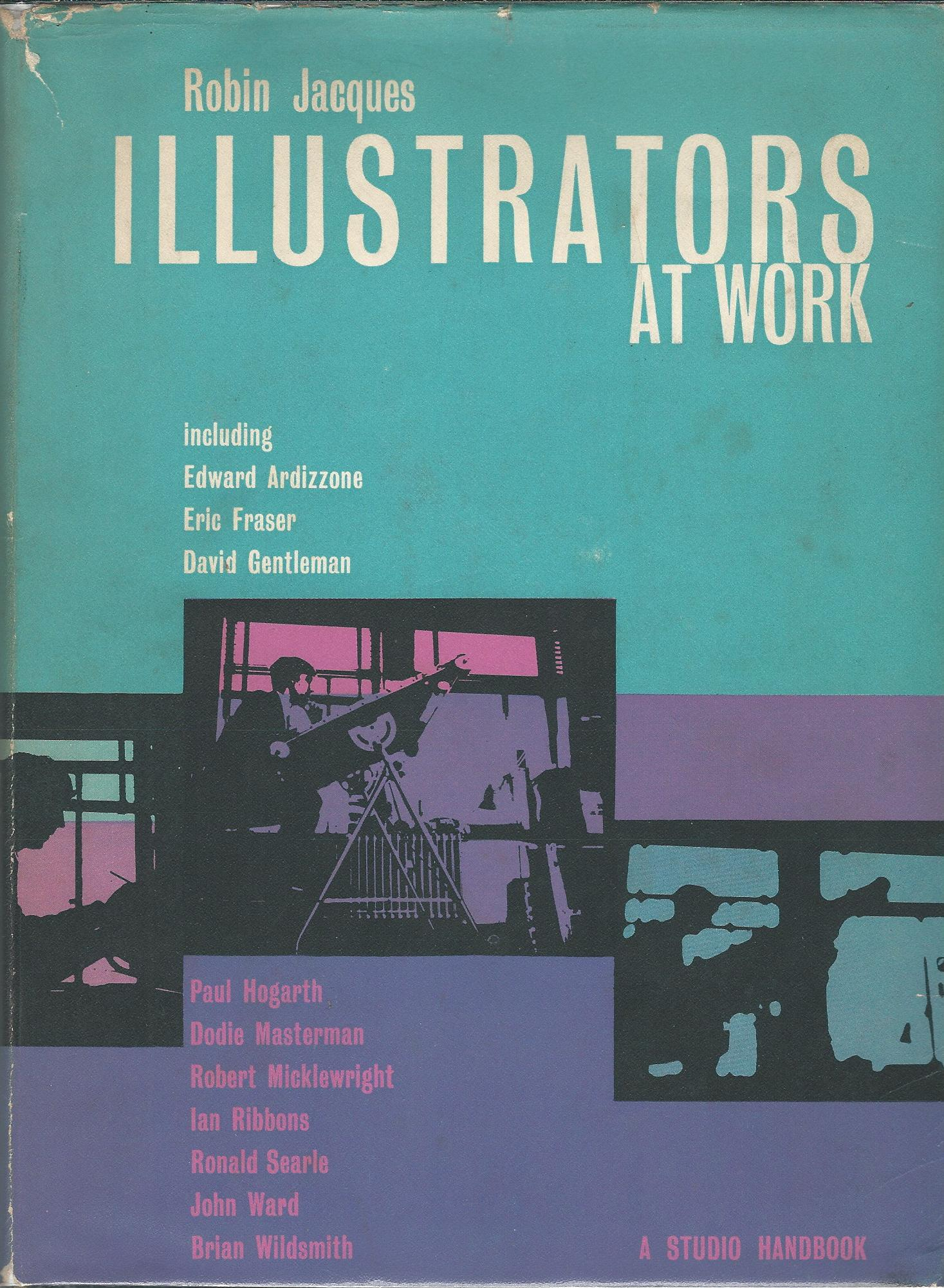 Image for Illustrators at Work.
