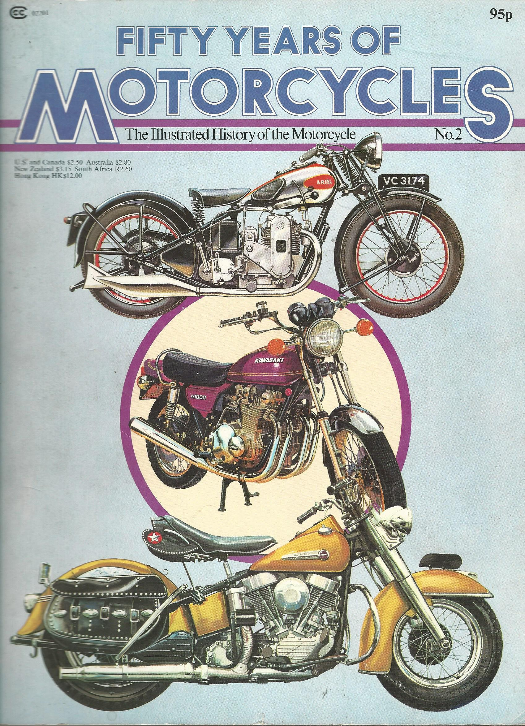 Image for Fifty Years of Motorcycles: The Illustrated History of the Motorcycle No.2.