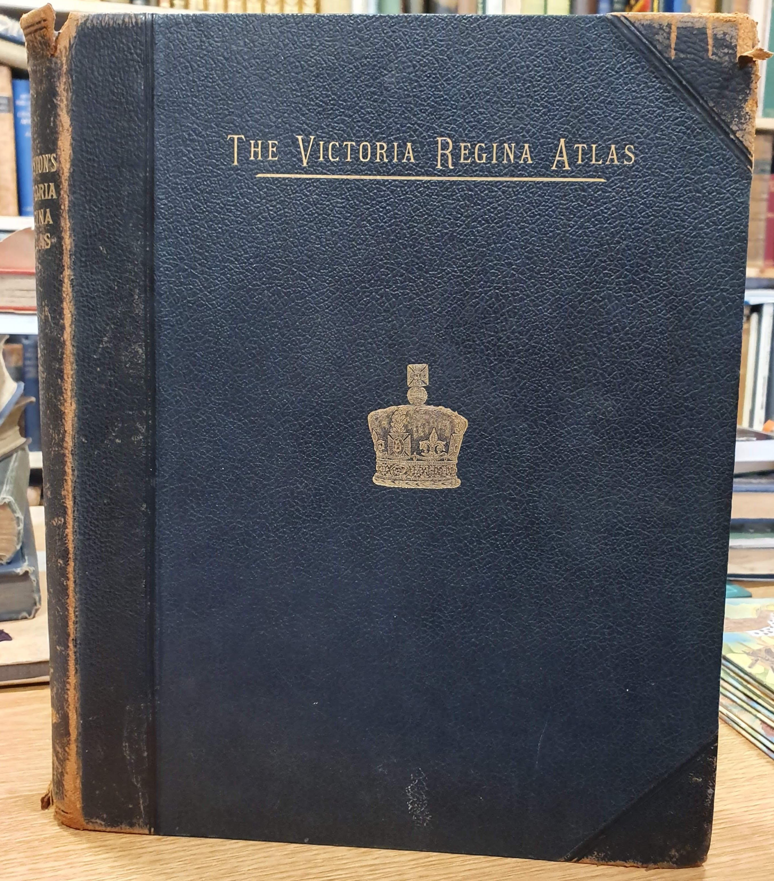 Image for The Victoria Regina Atlas: Political, Physical & Astronomical, Containing Two Hundred Plates and Complete Index.