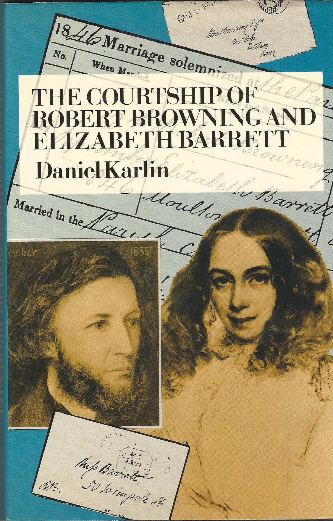 Image for The Courtship of Robert Browning and Elizabeth Barrett