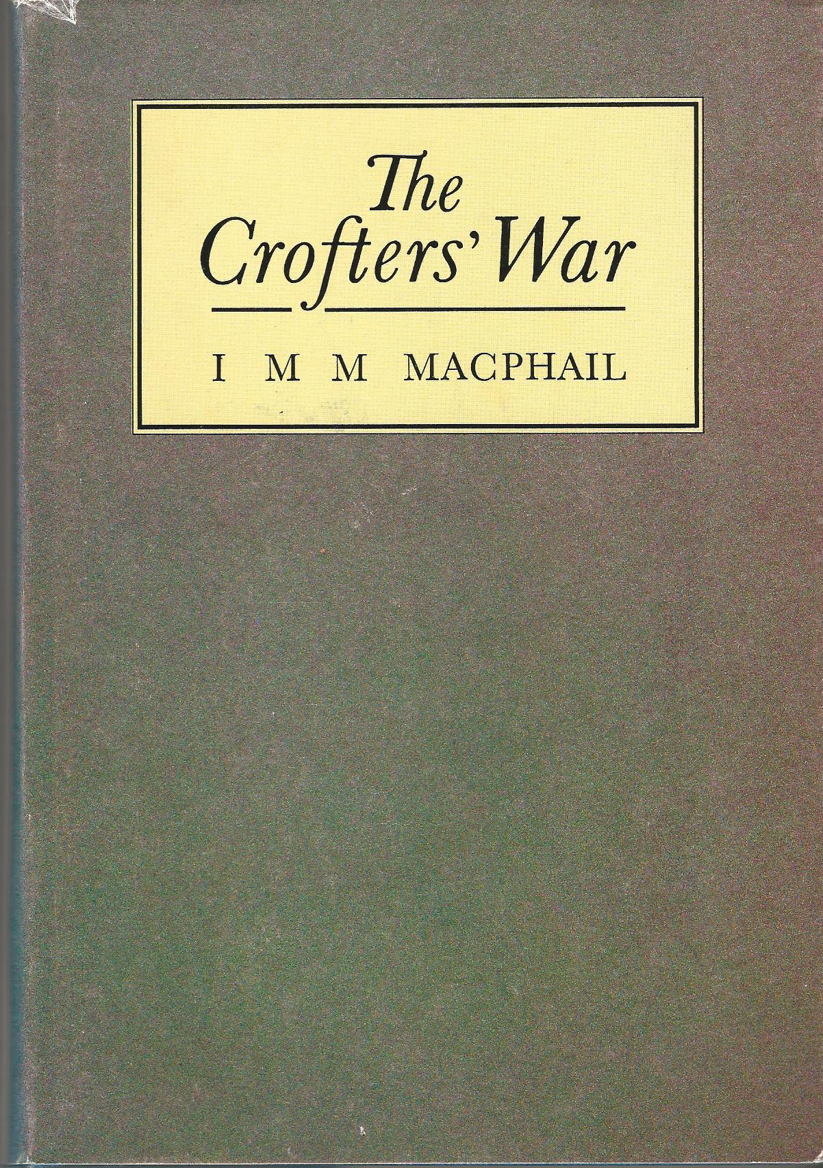 Image for The Crofters' War