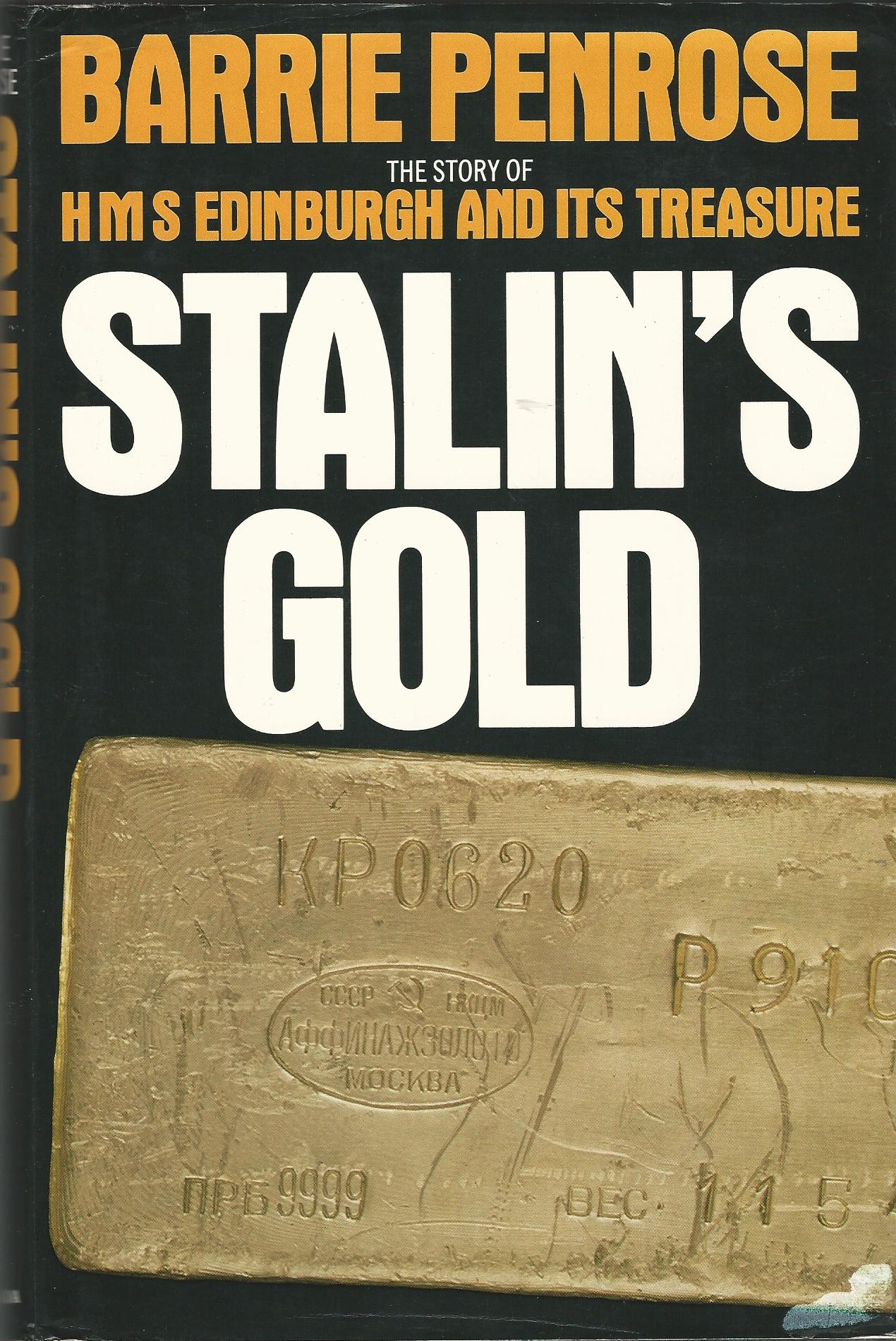 Image for Stalin's Gold: HMS Edinburgh and its Treasure.