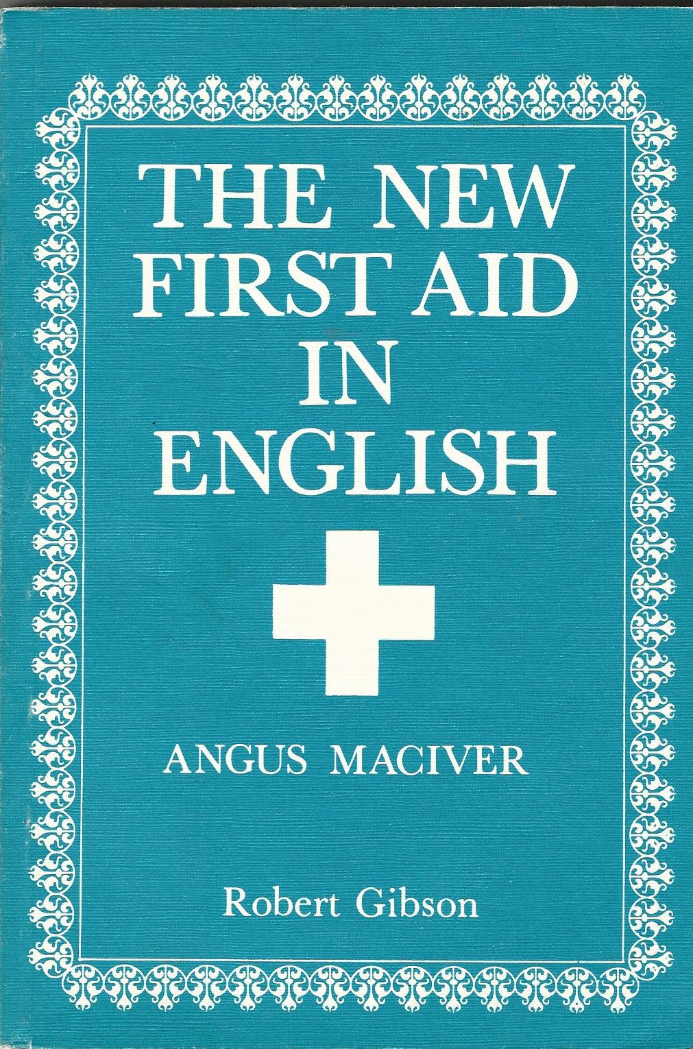 Image for The New First Aid in English
