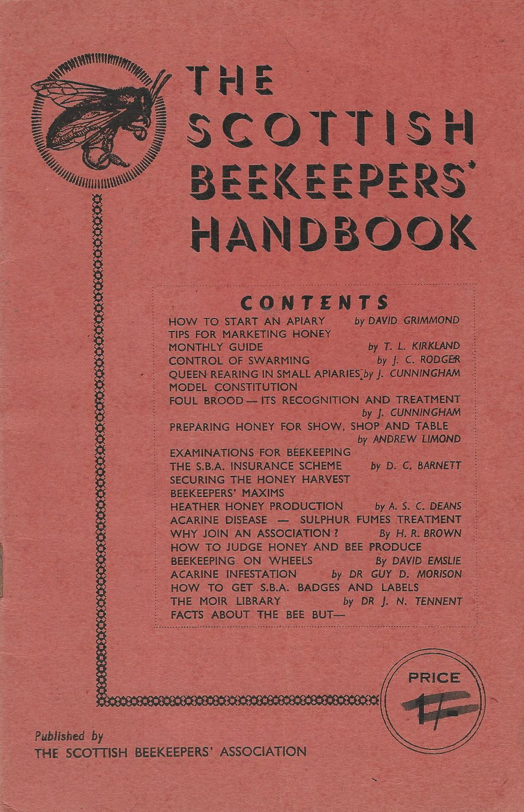 Image for The Scottish Beekeepers' Handbook