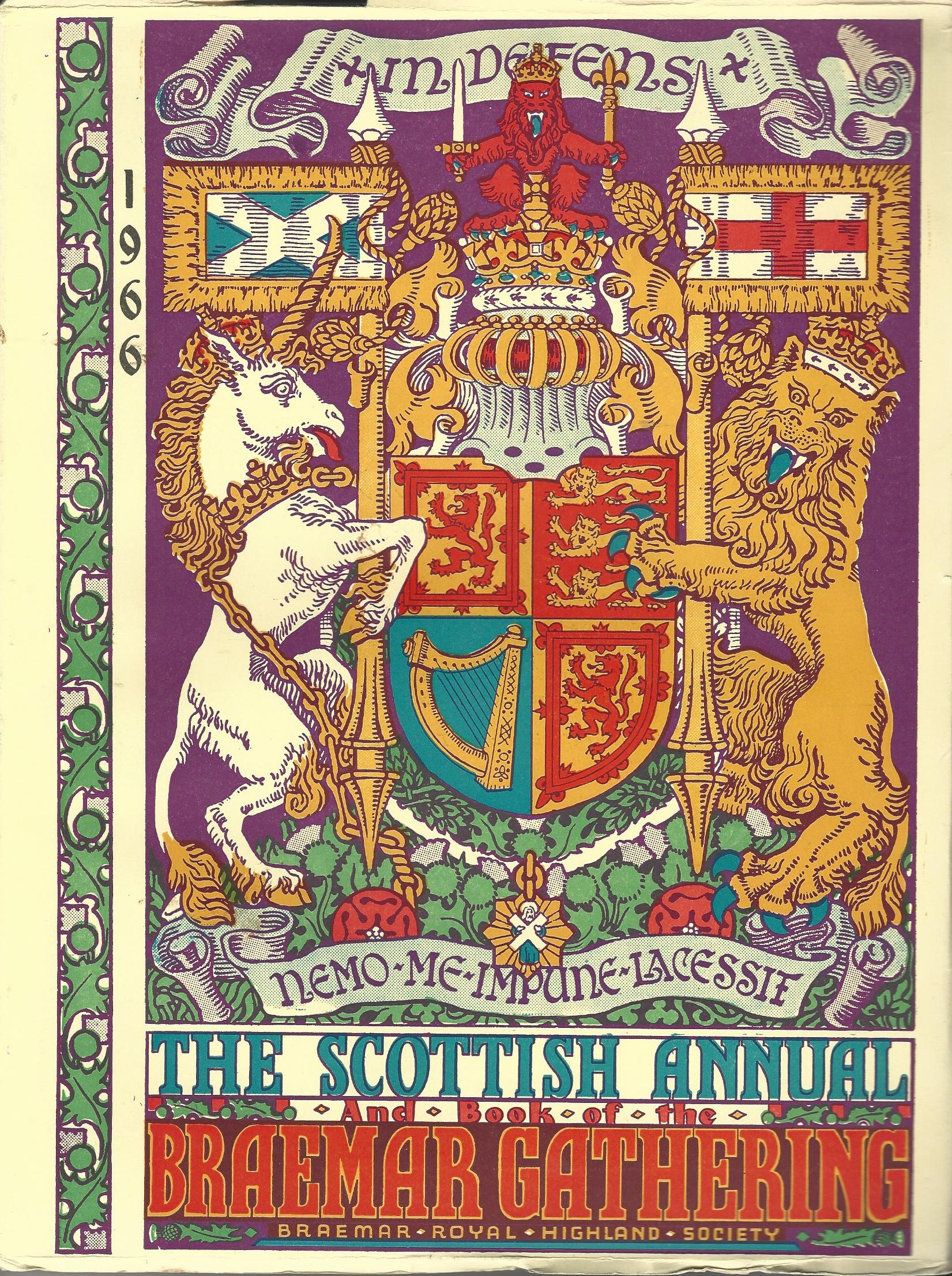 Image for Book of the Braemar Gathering 1966.