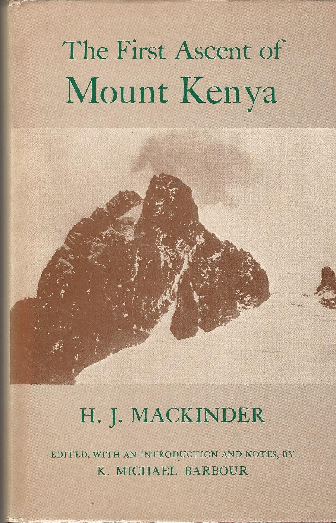 Image for The First Ascent of Mount Kenya