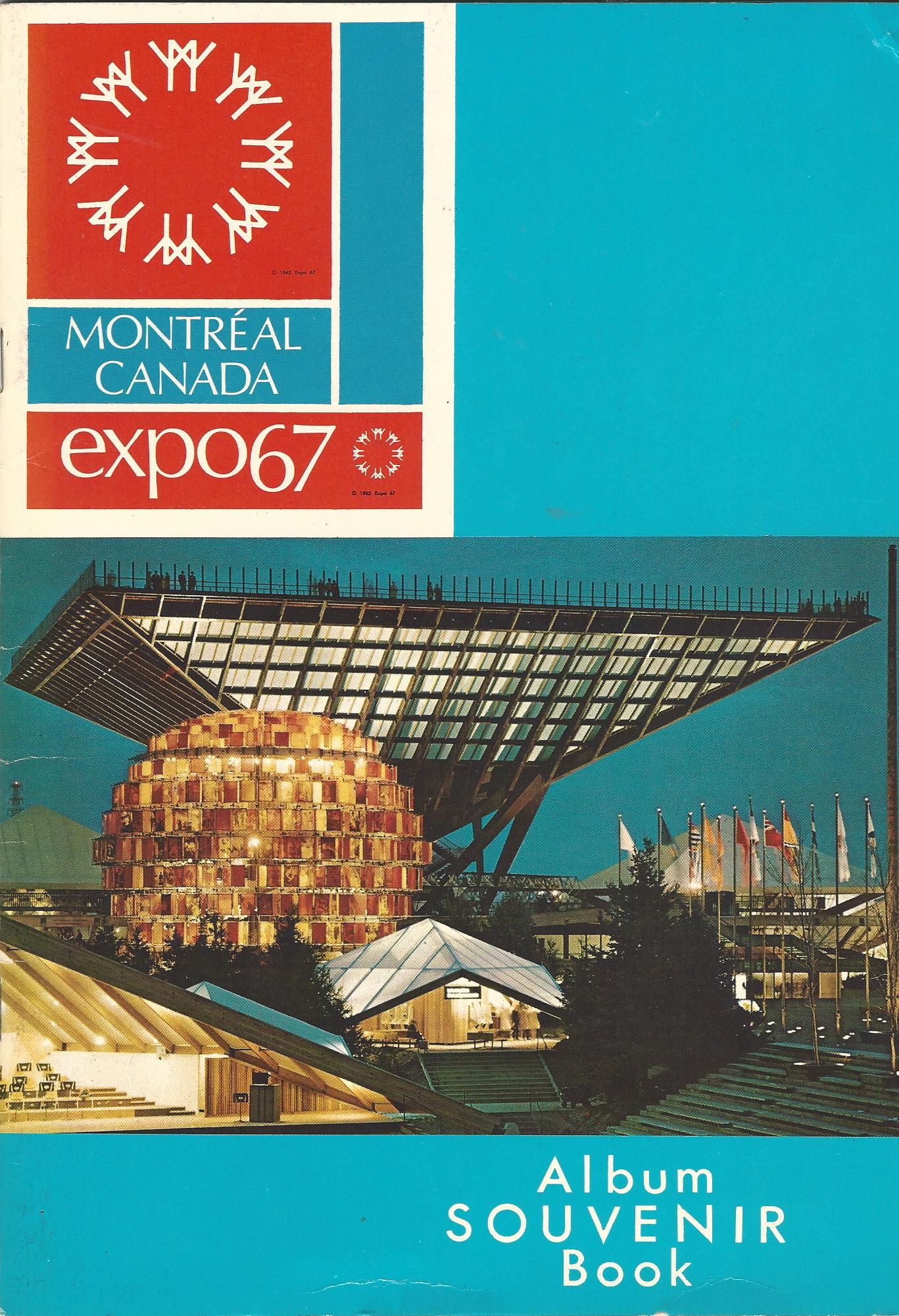 Image for Motreal Expo67 Album Souvenir Book