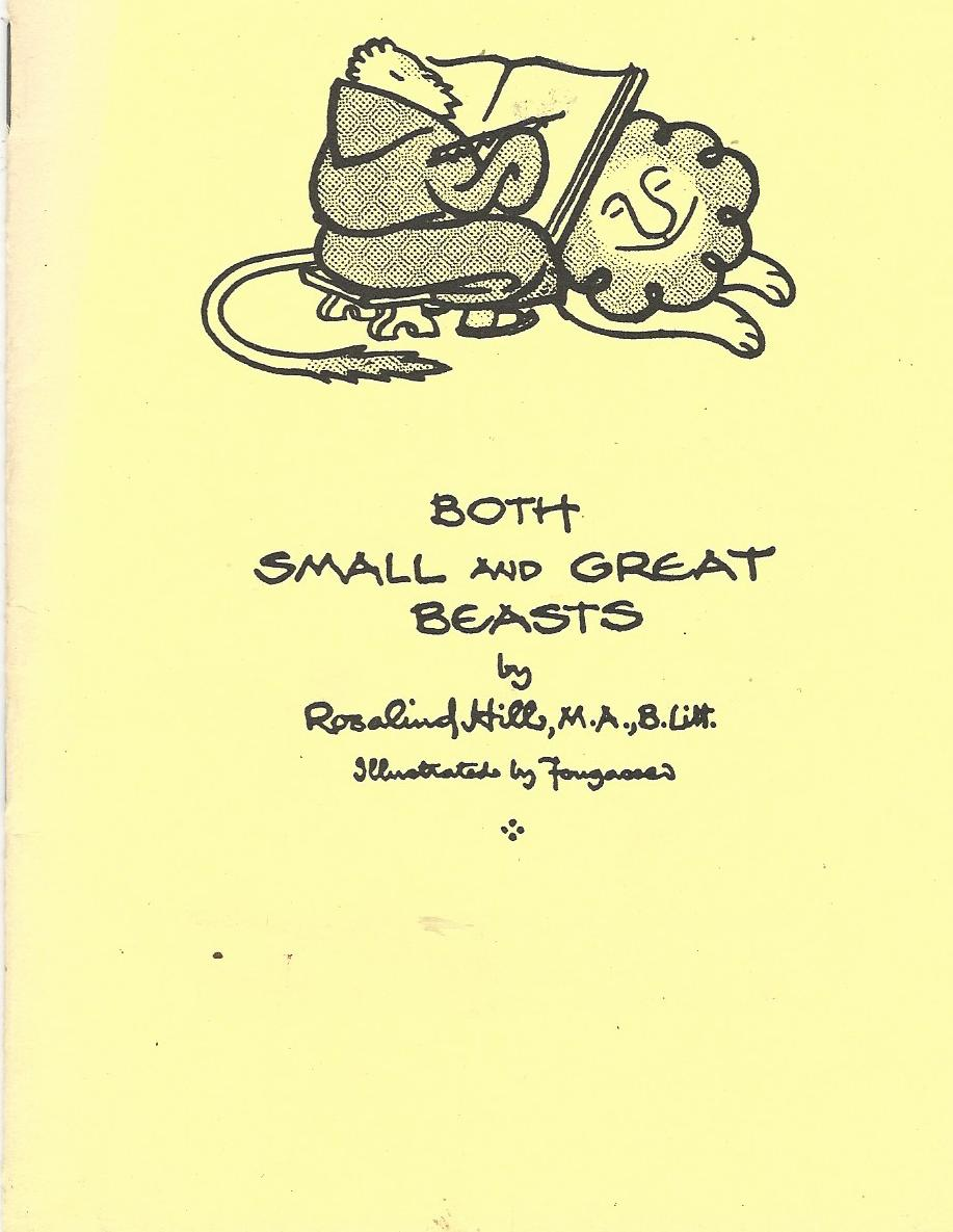 Image for Both Small and Great Beasts.