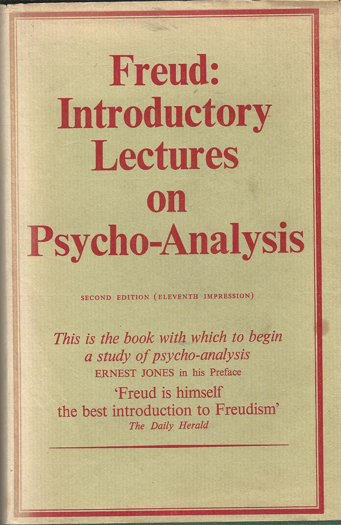 Image for Freud: Introductory Lectures on Psycho-Analysis.