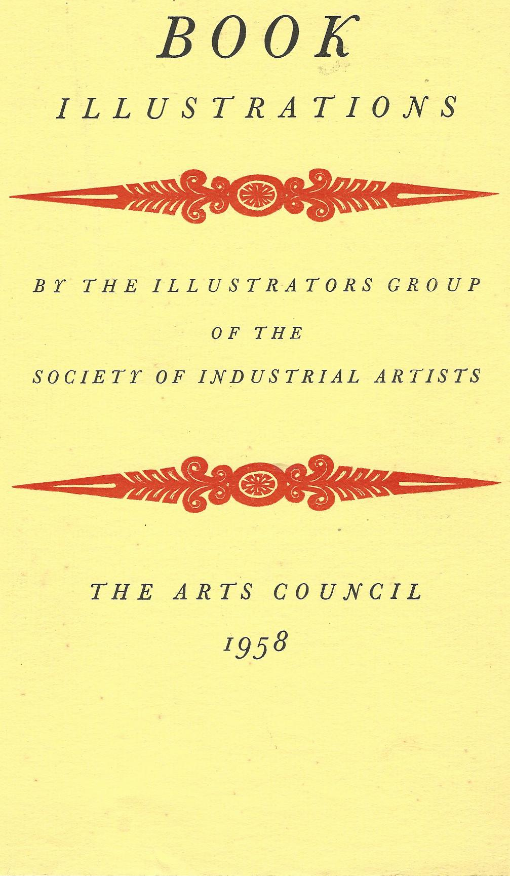 Image for Book Illustrations by the Illustrators Group of the Society of Industrial Artists.