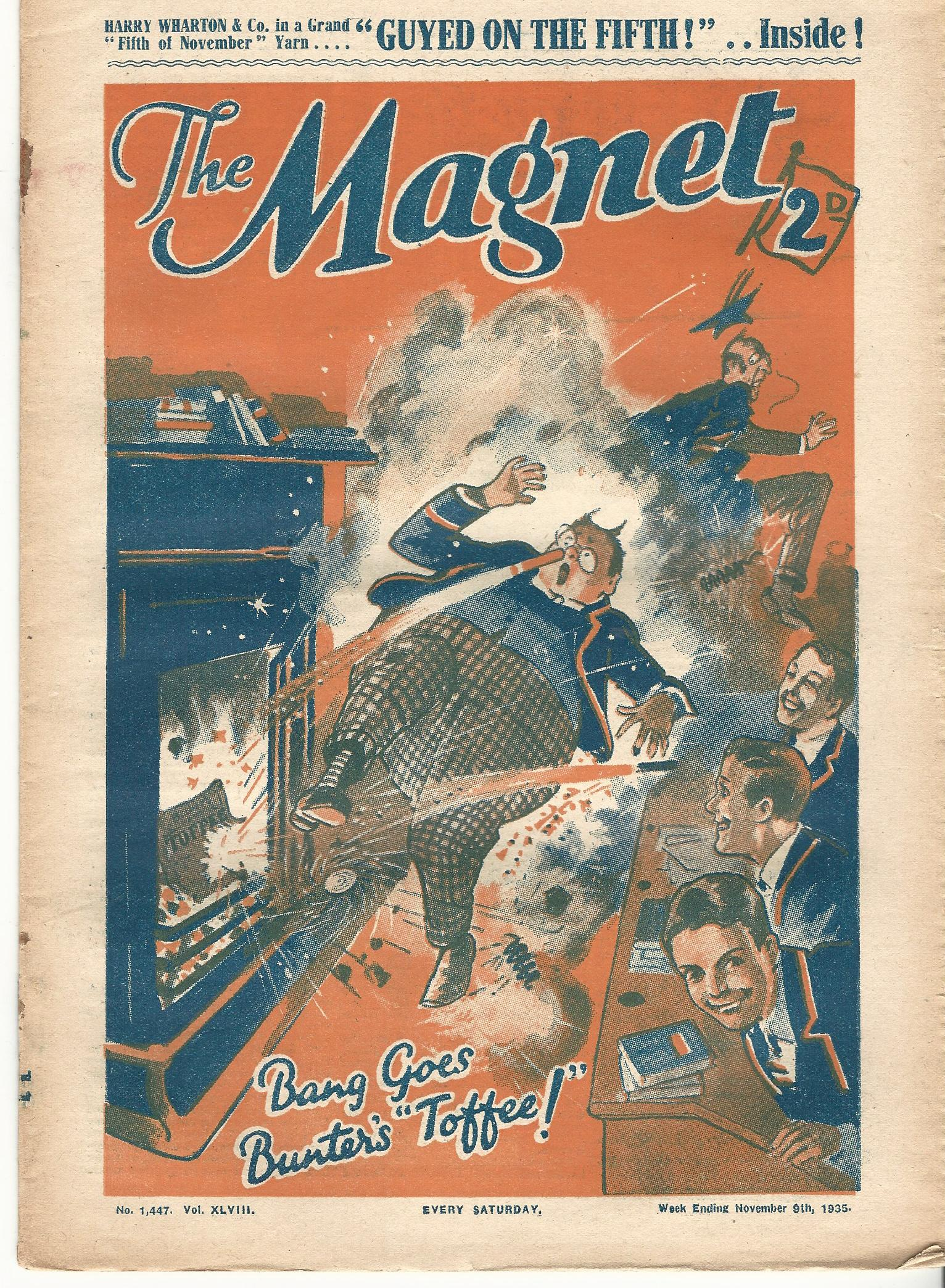 Image for The Magnet No.1447 Vol. XLVIII