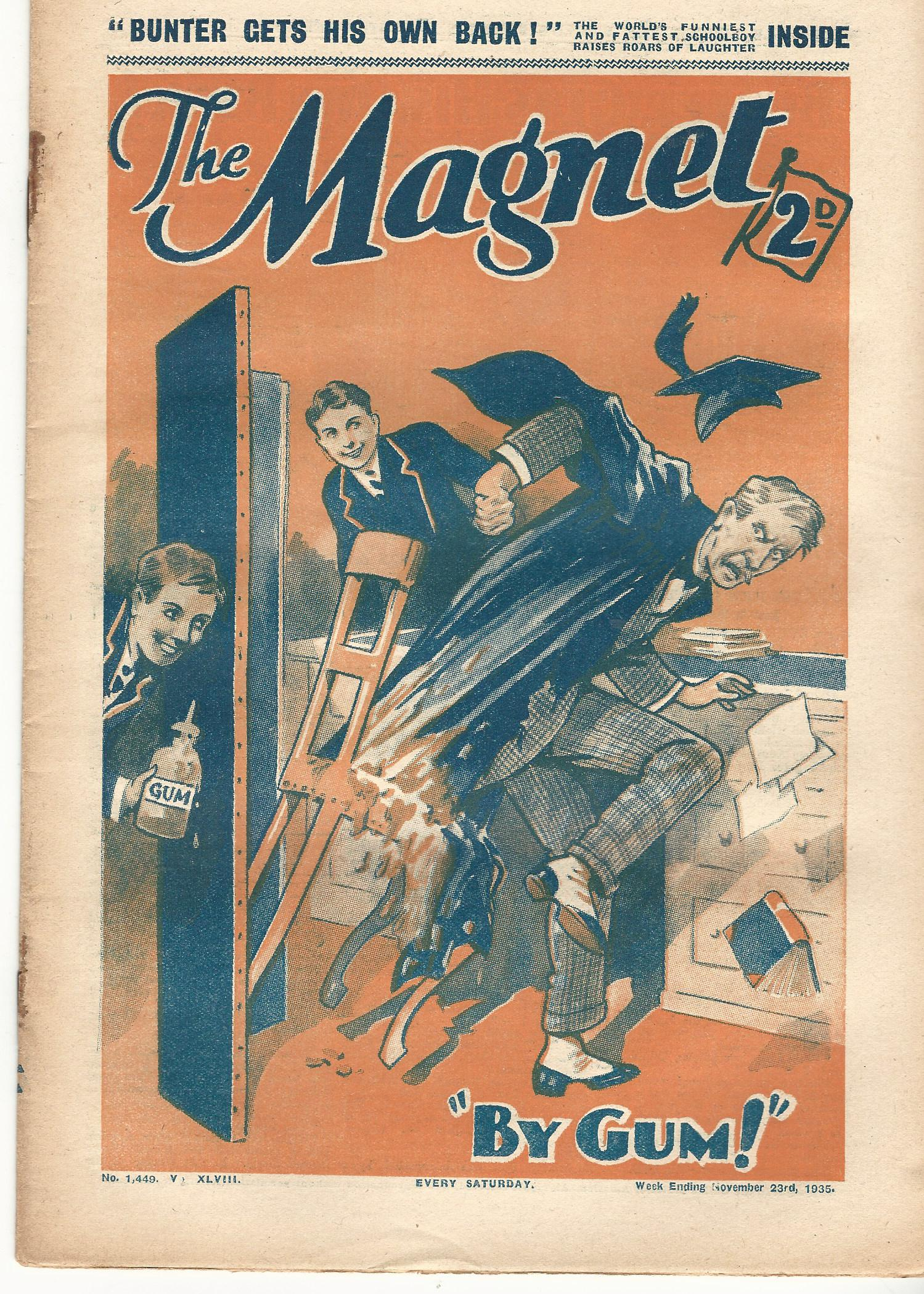 Image for The Magnet No.1449 Vol. XLVIII