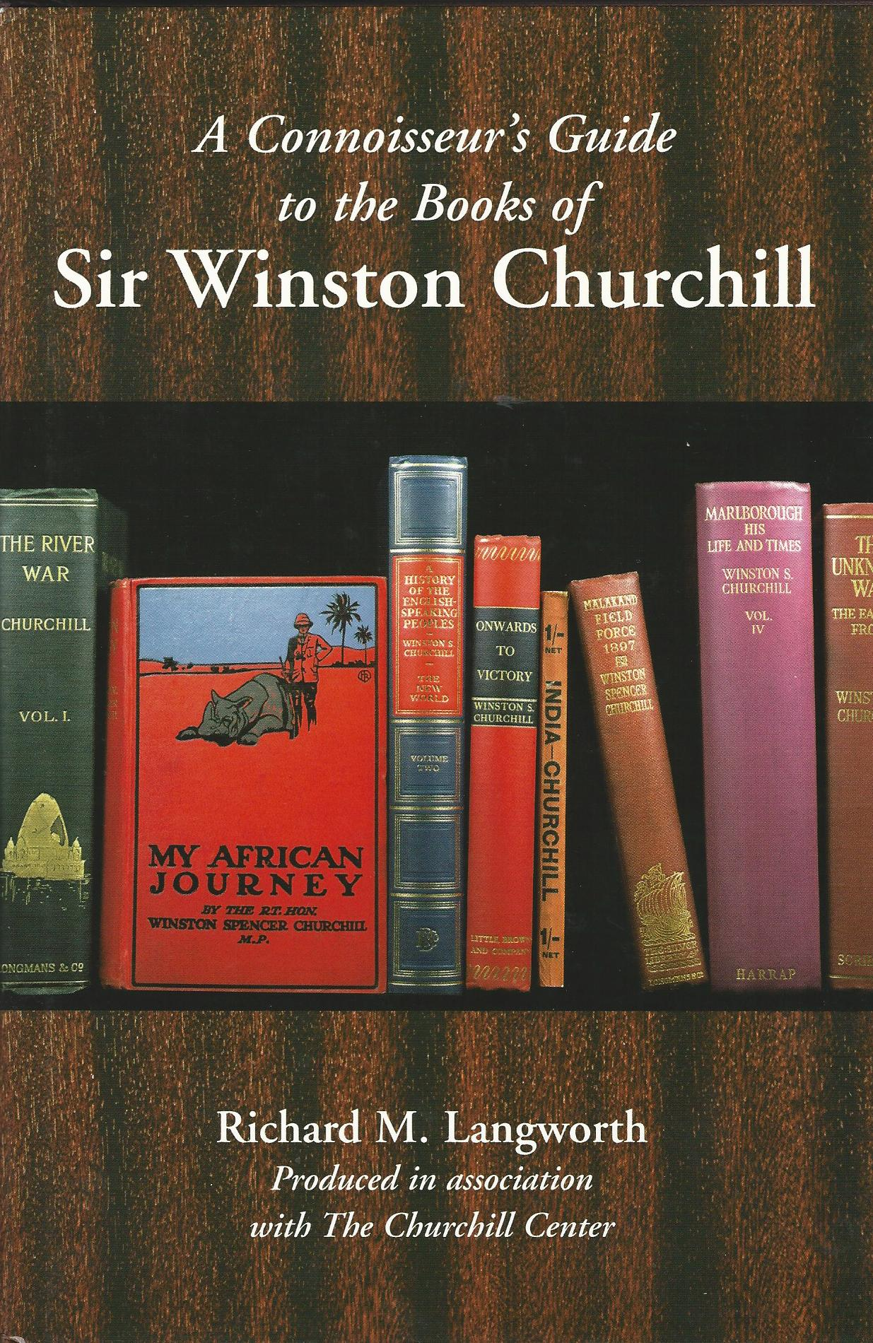 Image for A Connoisseur's Guide to the Books of Sir Winston Churchill