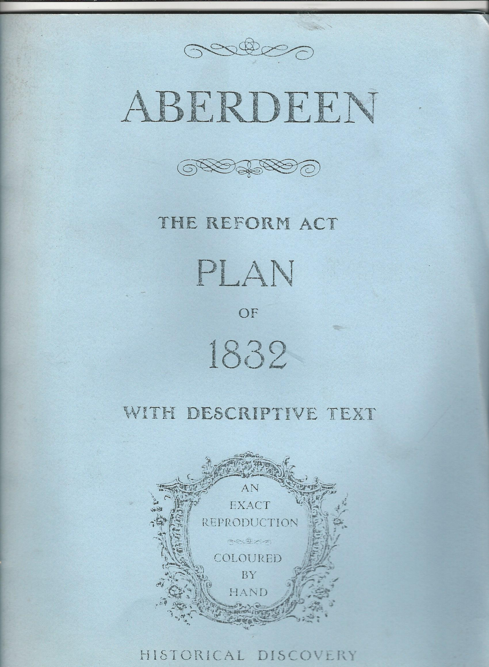 Image for Aberdeen: Reform Act Plan of 1832, with Descriptive Text.