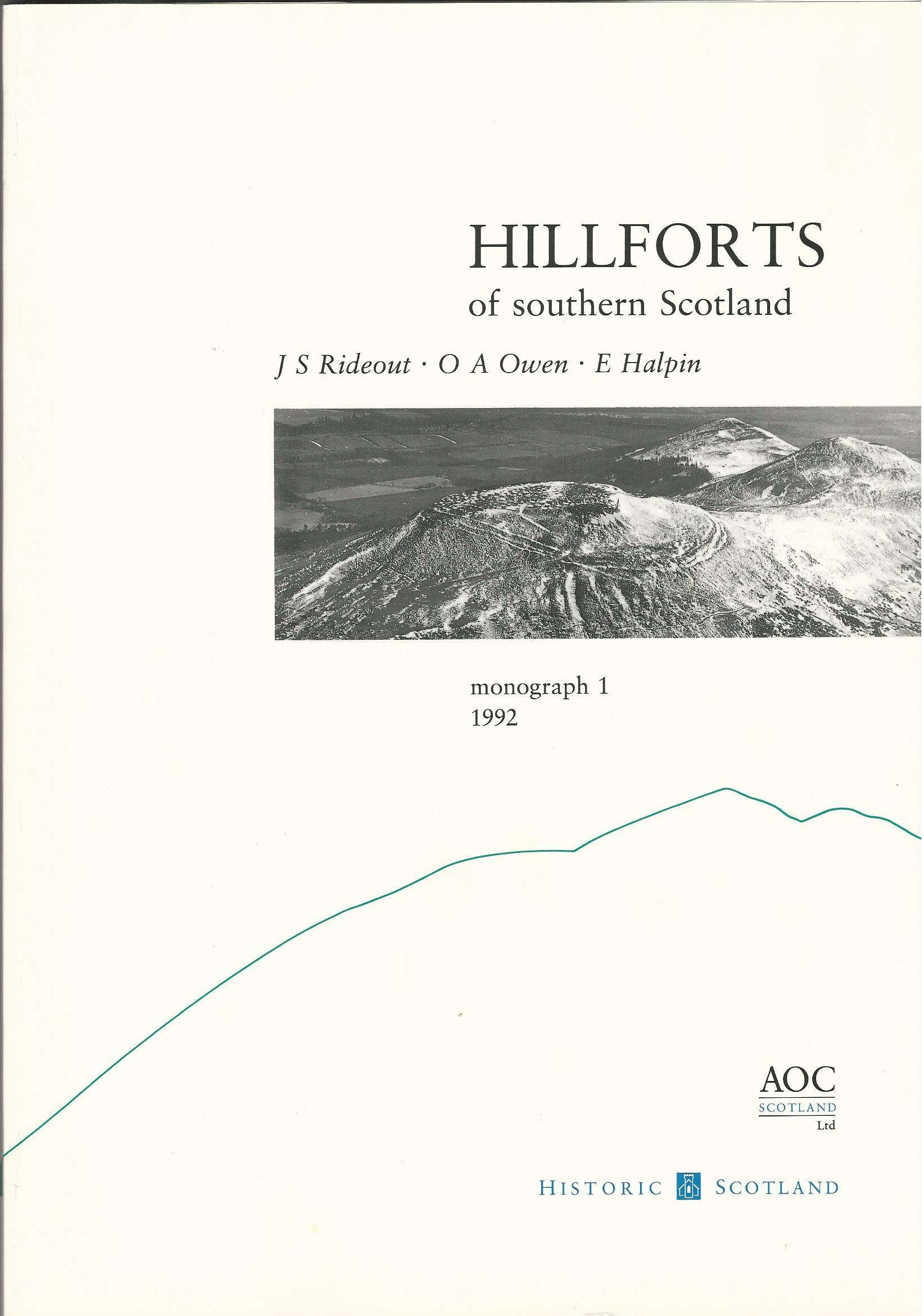 Image for Hillforts of Southern Scotland Monograph 1
