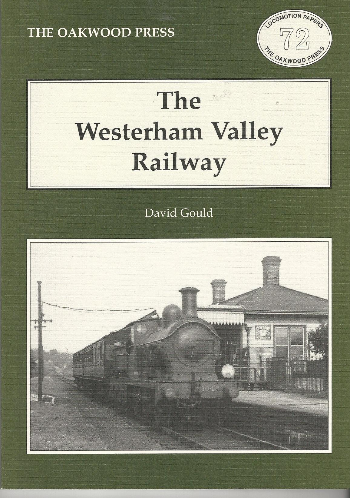 Image for The Westerham Valley Railway (Locomotion papers 72)