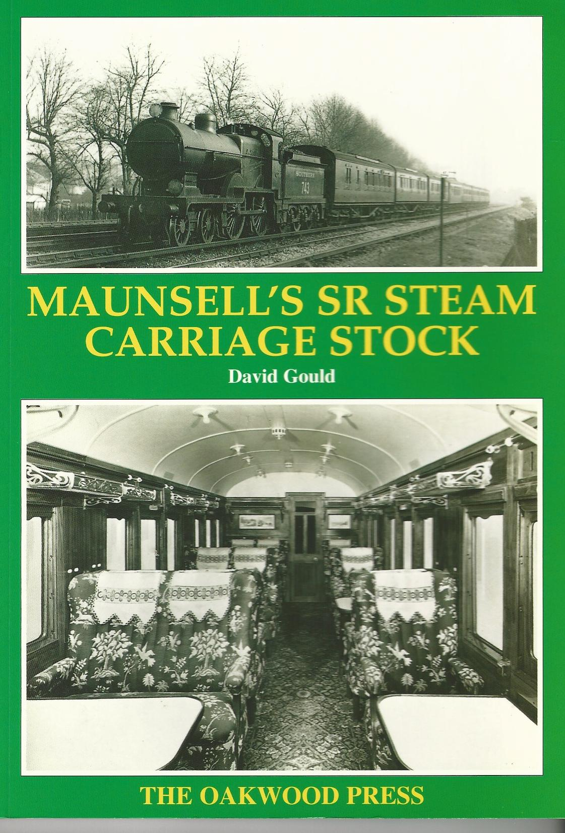 Image for Maunsell's SR Steam Carriage Stock.