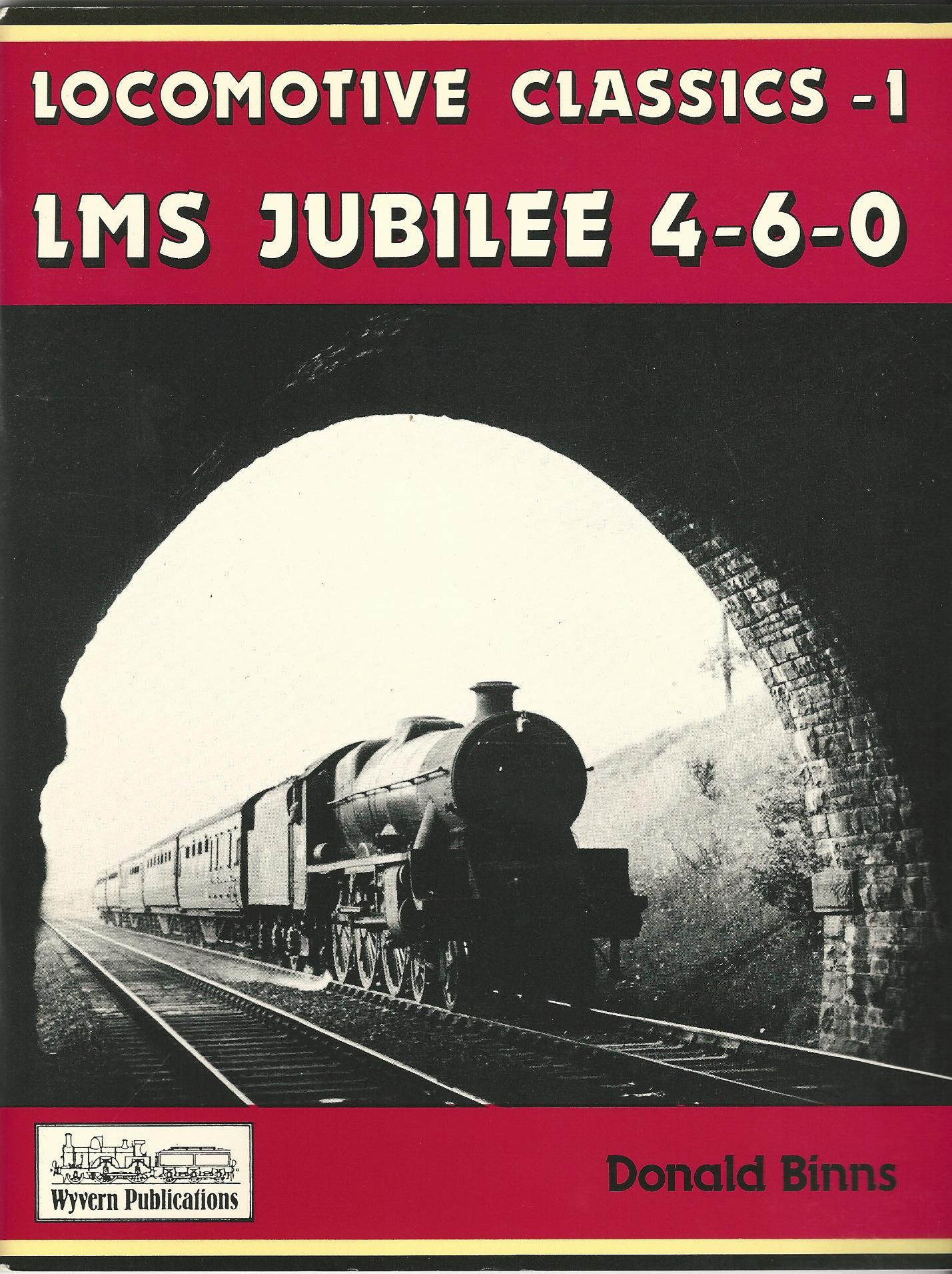Image for LOCOMOTIVE CLASSICS - 1 LMS JUBILEE 4-6-0