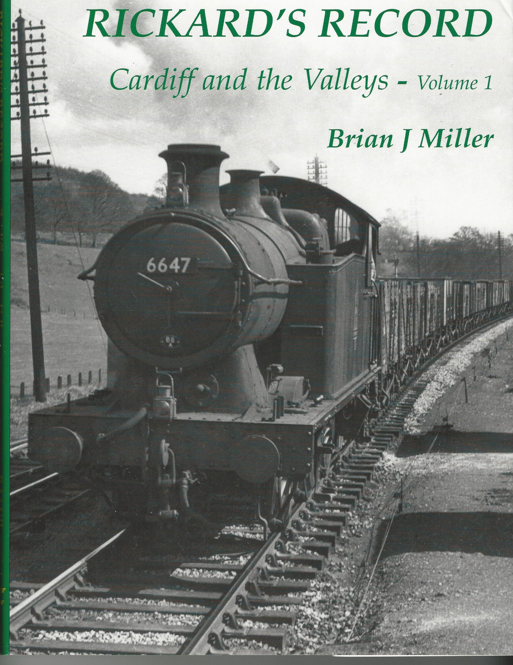Image for Rickard's Record: Cardiff and the Valleys (volume 1).