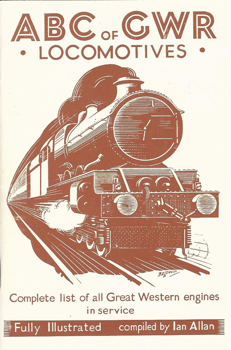 Image for ABC of GWR: Locomotives.