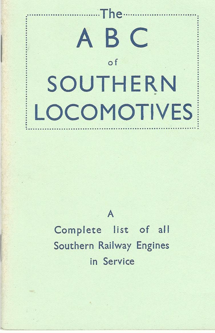 Image for The ABC of Southern Locomotives.
