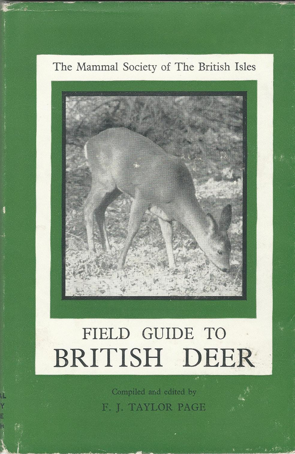 Image for Field Guide to British Deer