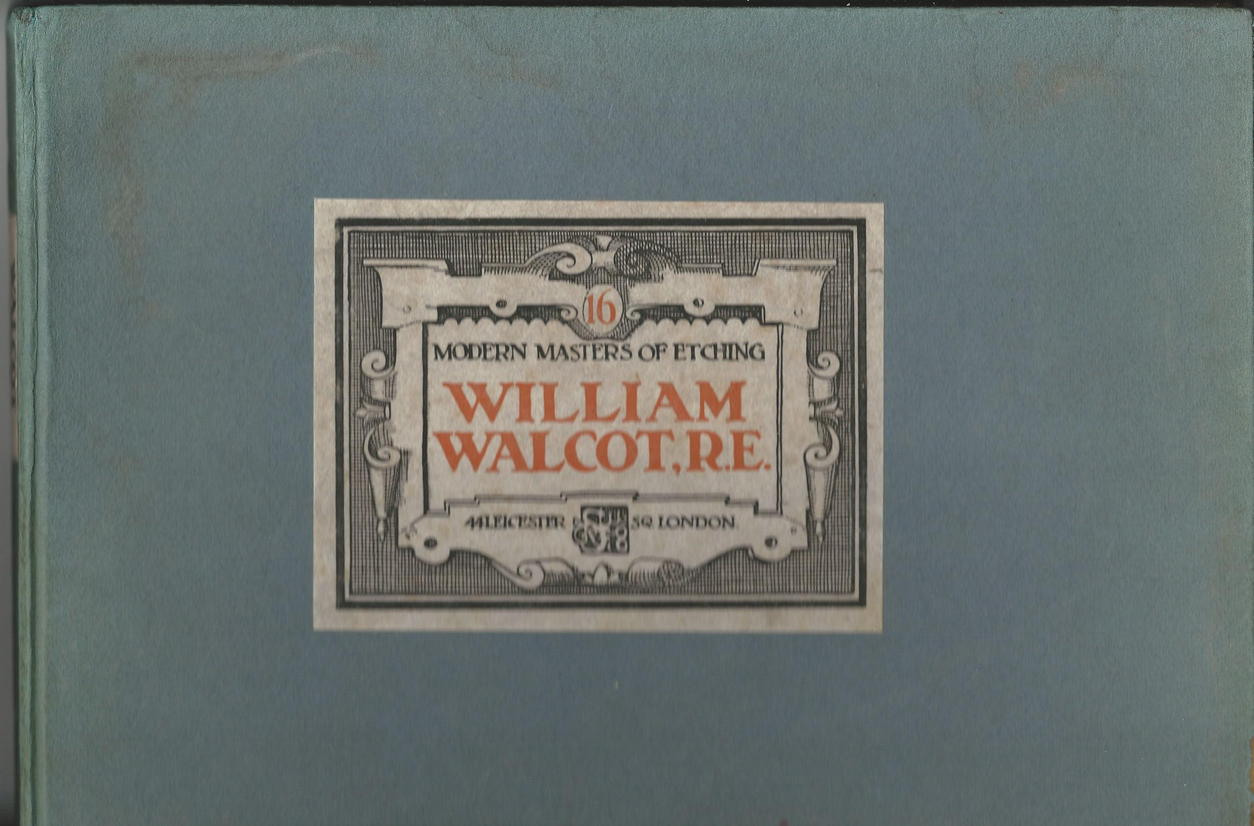 Image for Modern Masters of Etching - William Walcot, R.E. No.16
