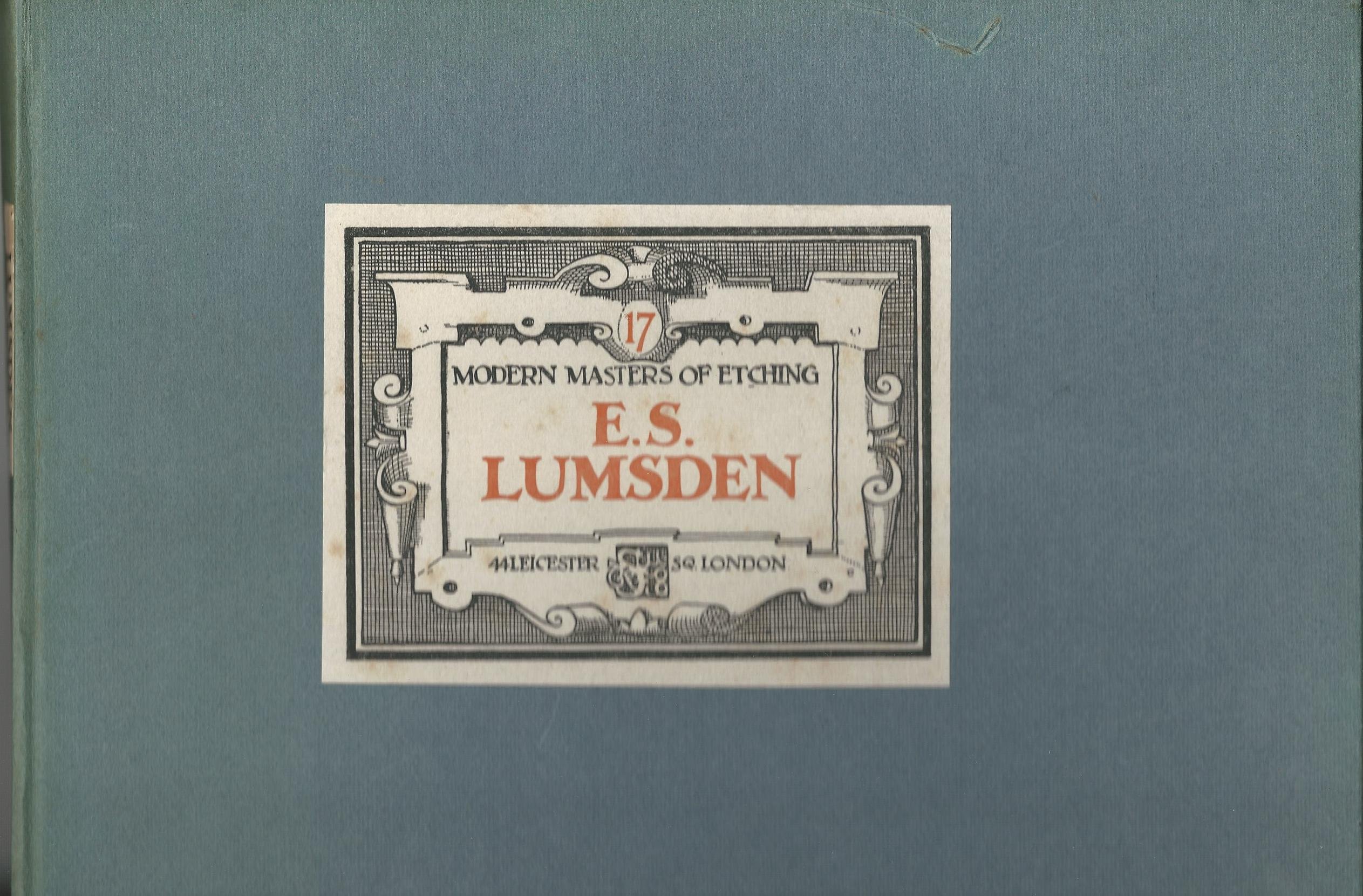 Image for Modern Masters of Etching - E.S. Lumsden No.17.