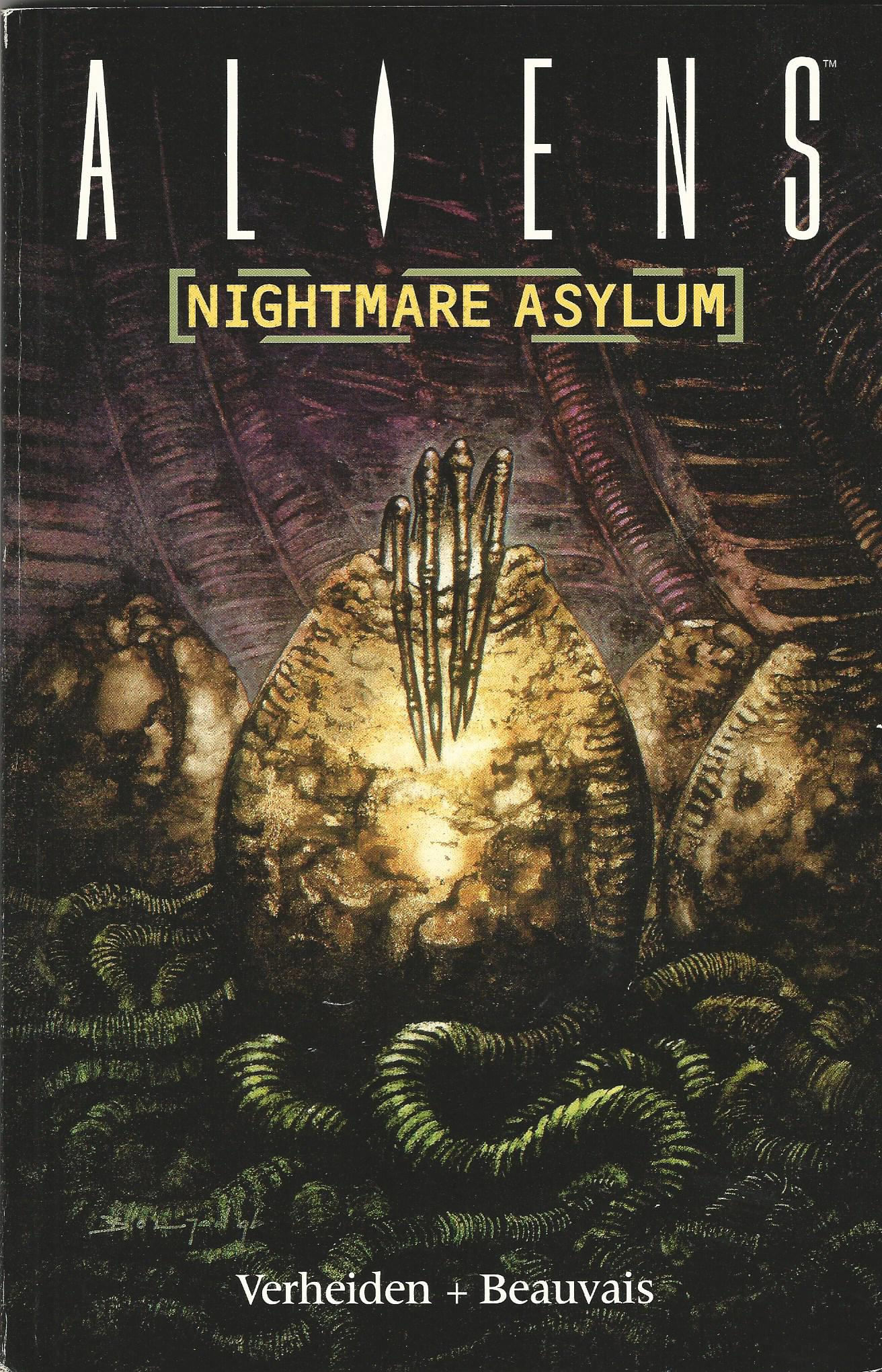 Image for Aliens: Nightmare Asylum