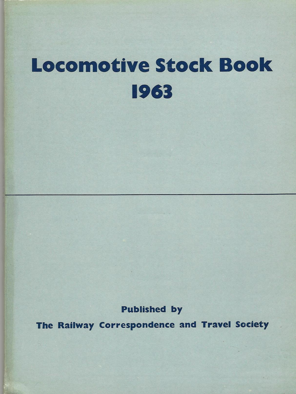 Image for Locomotive Stock Book 1963