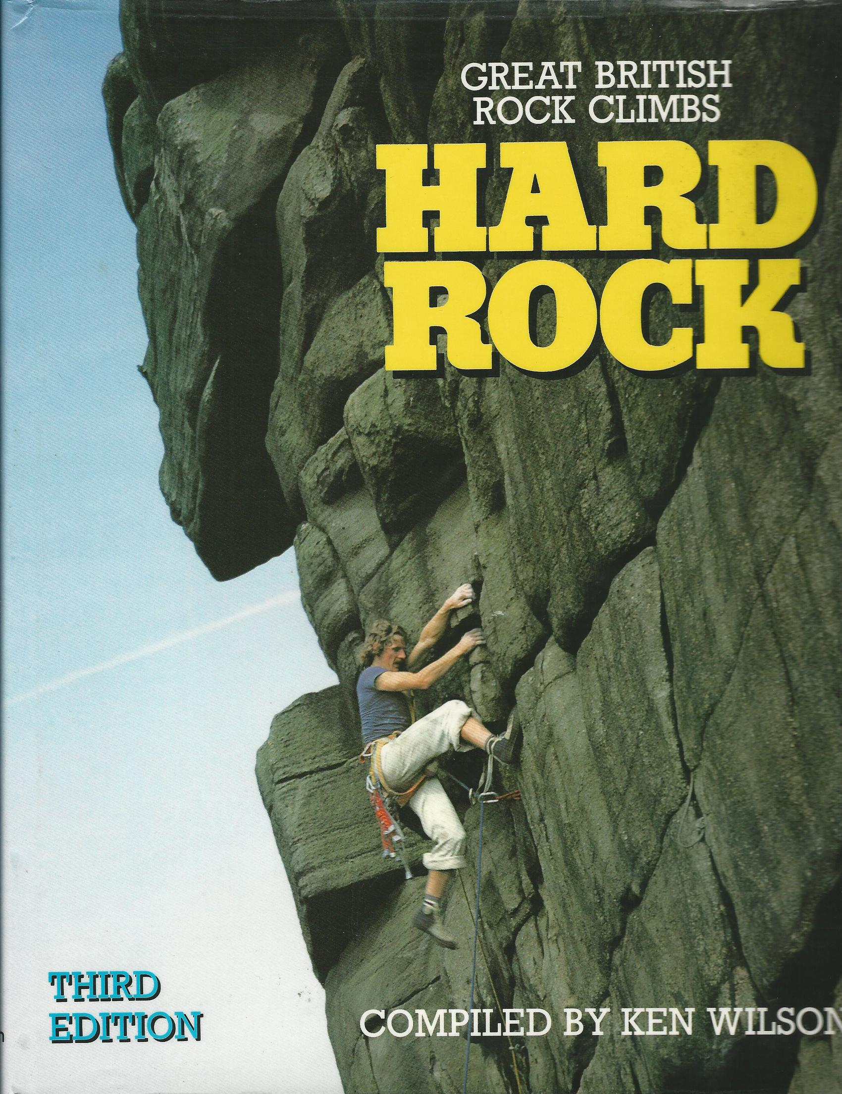 Image for Hard Rock: Great British Rock Climbs