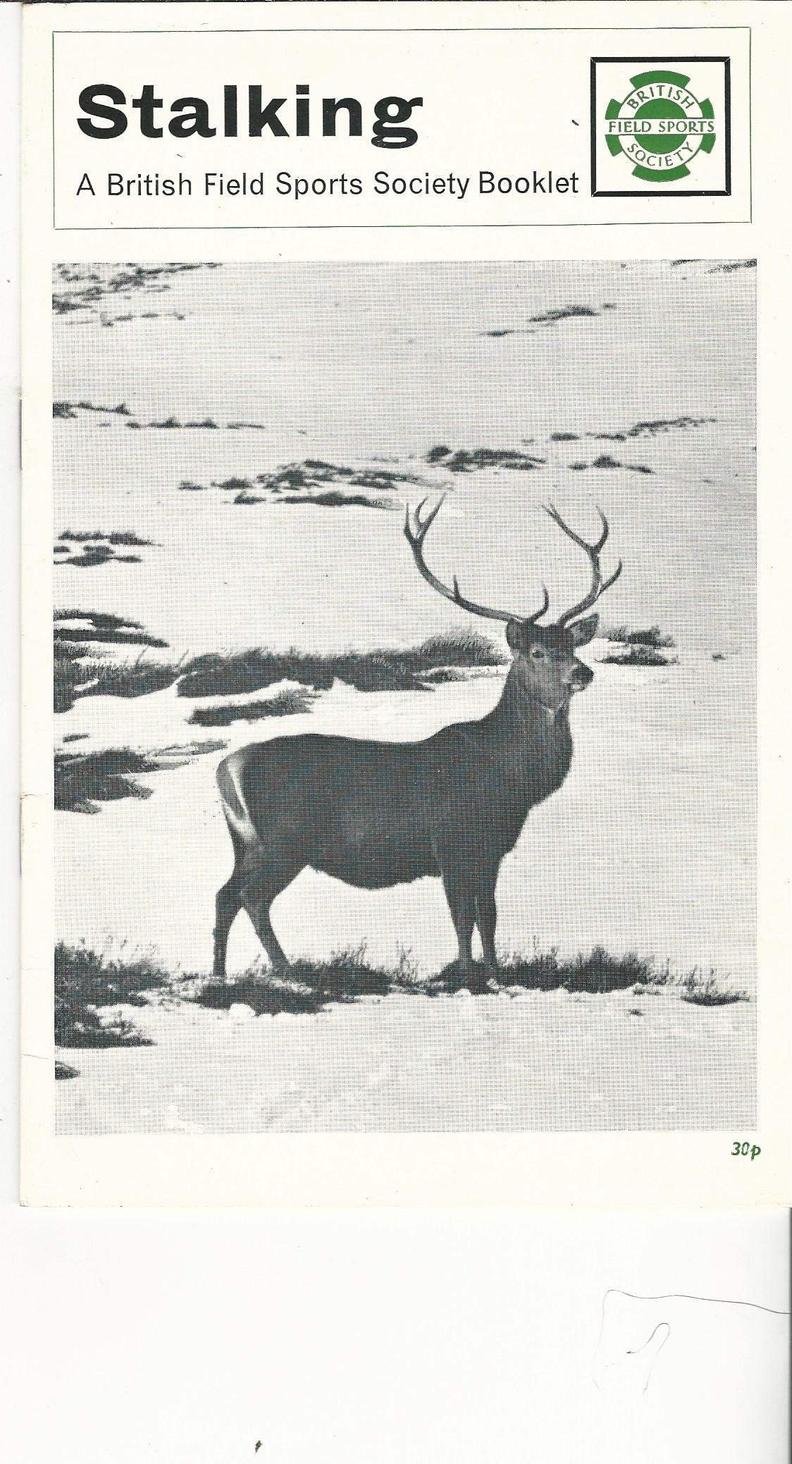 Image for Stalking: A British Field Sport Society Booklet.