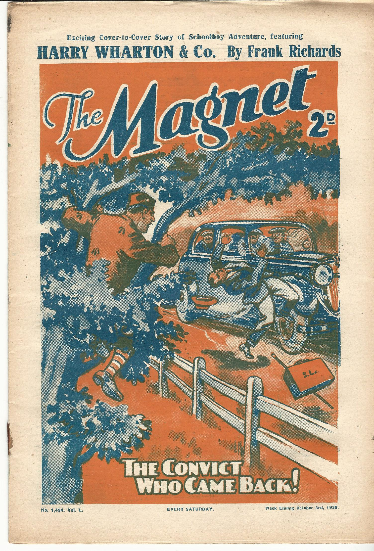 Image for The Magnet No.1495, Vol L.