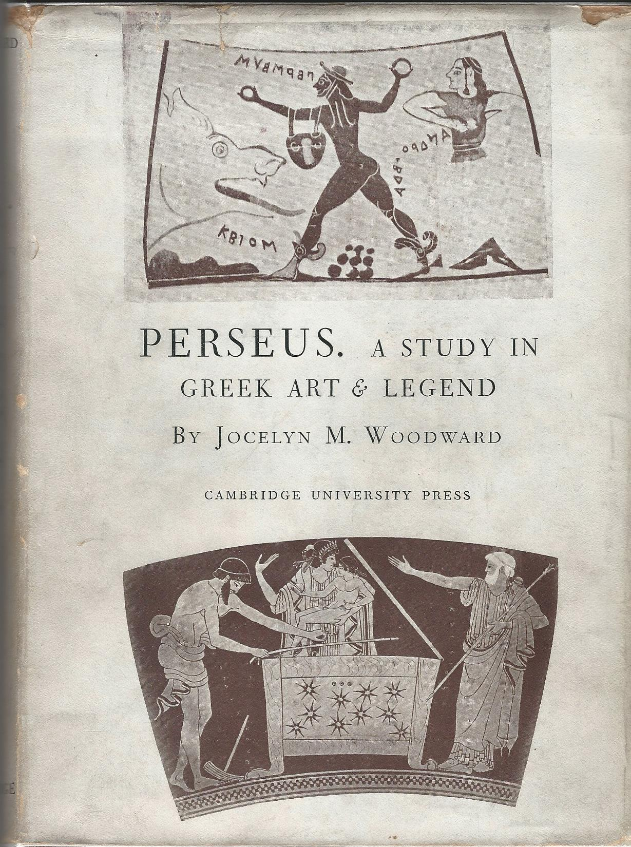 Image for Perseus: A Study in Greek Art & Legend