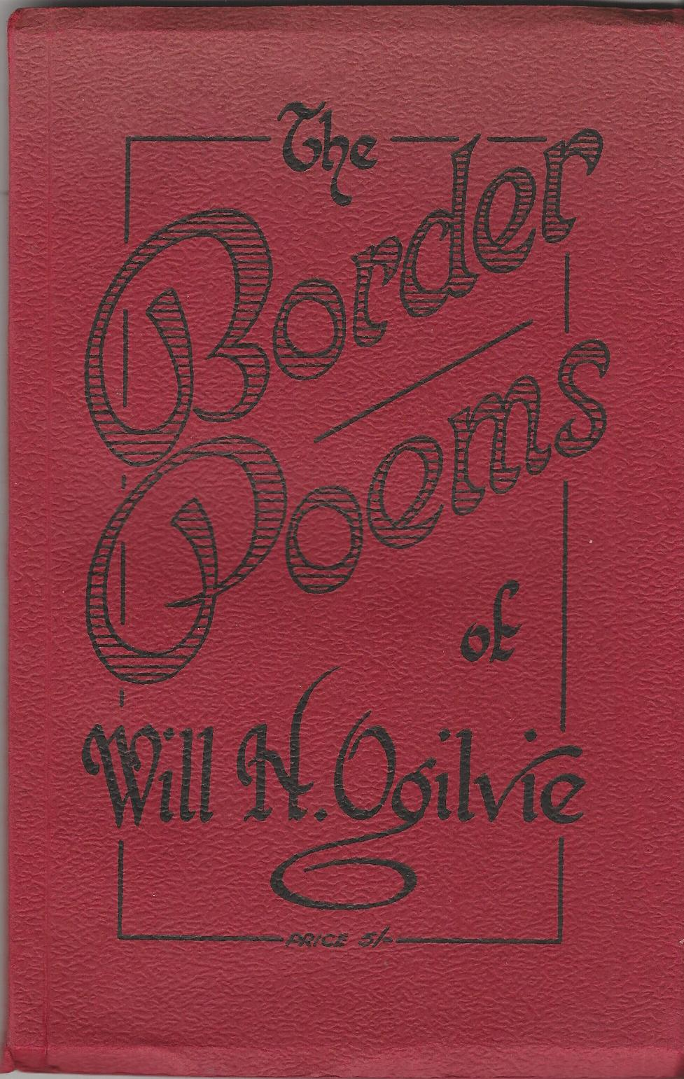 Image for The Border Poems of Will H. Ogilvie