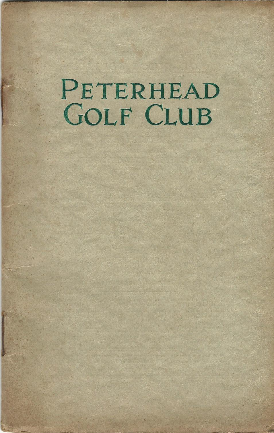Image for Peterhead and the Peterhead Golf Club