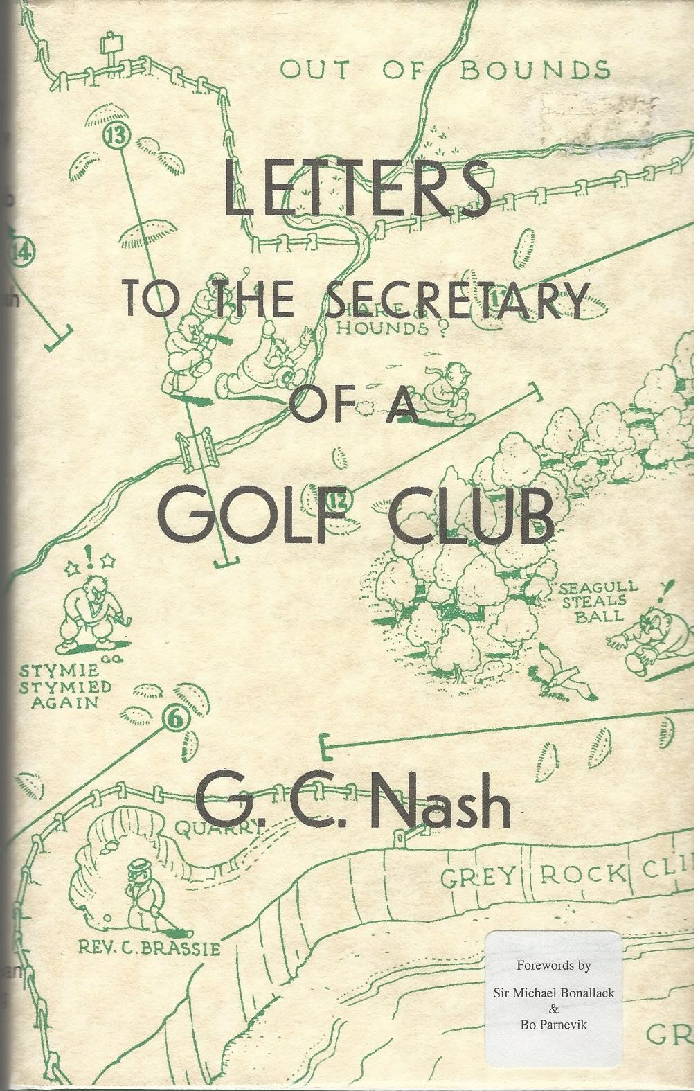 Image for Letters to the Secretary of a Golf Club