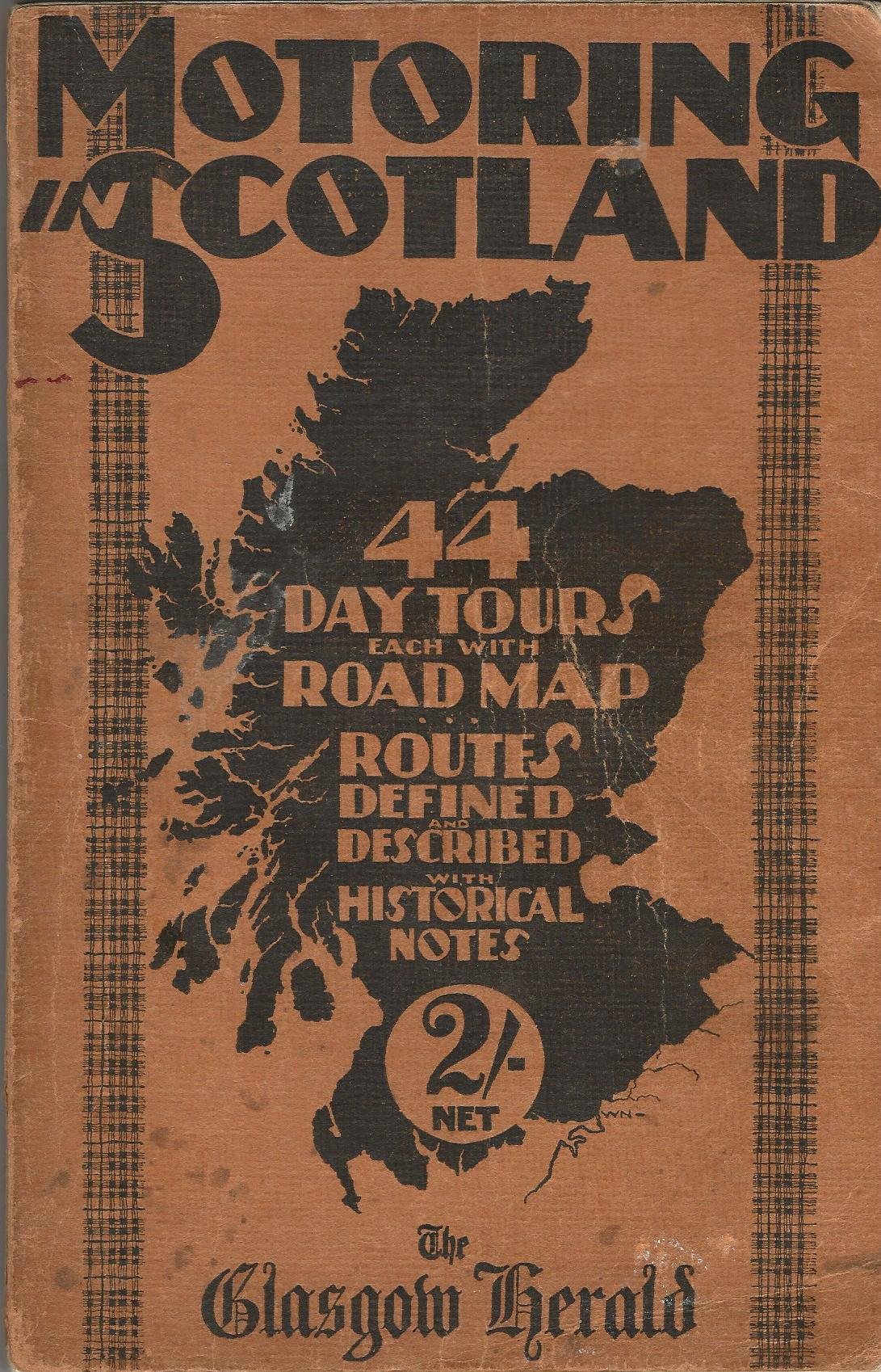 Image for Motoring in Scotland: Touring Guide.