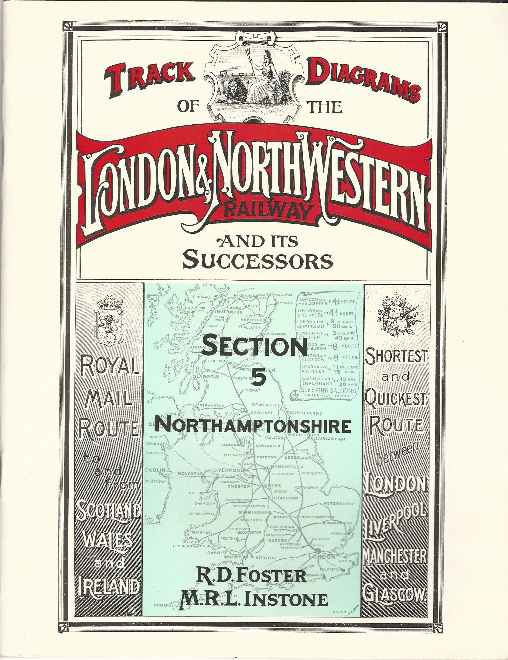Image for Track Layout Diagrams of the London & North Western Railway, section 5: Northamptonshire: Northamptonshire Section 5