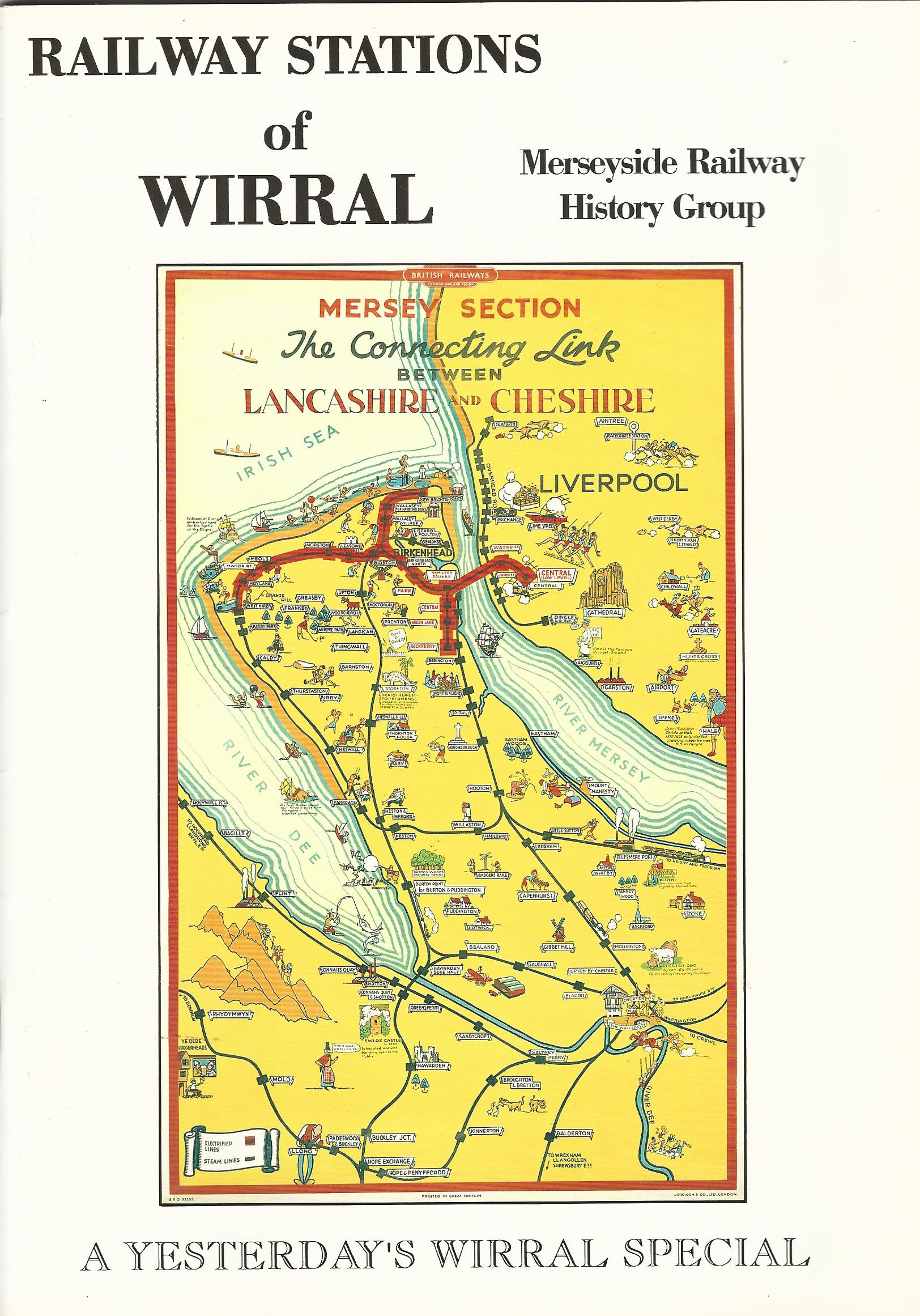 Image for Railway Stations of Wirral