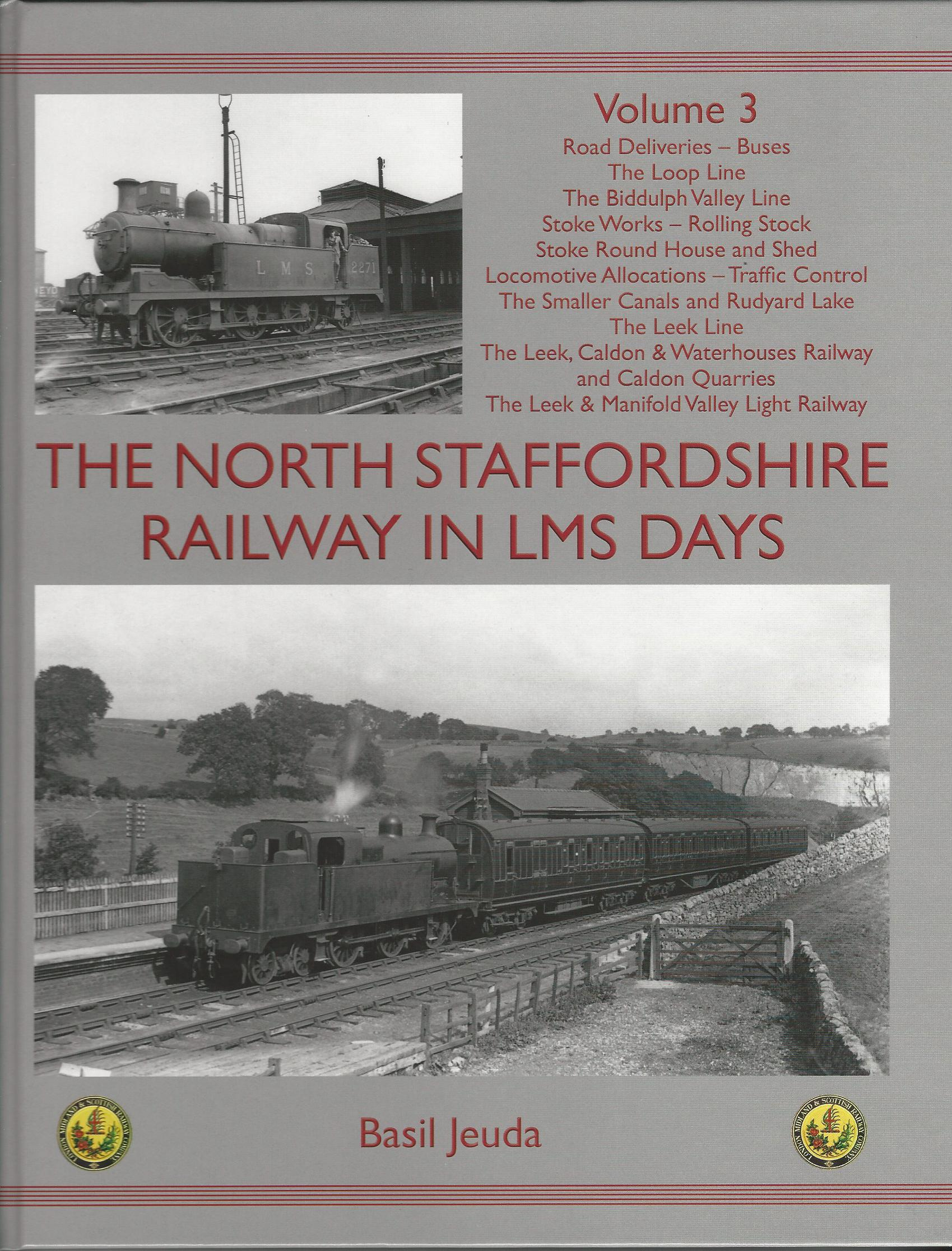 Image for The North Staffordshire Railway in LMS Days: Volume 3