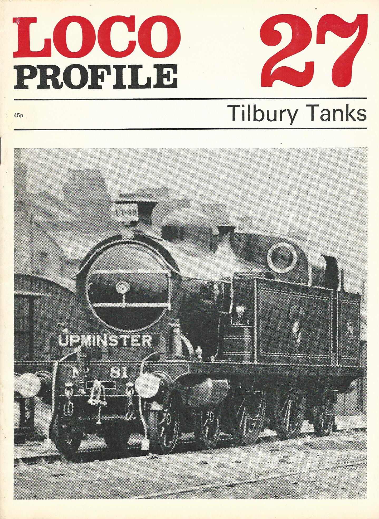 Image for Loco Profile 27 - Tilbury Tanks